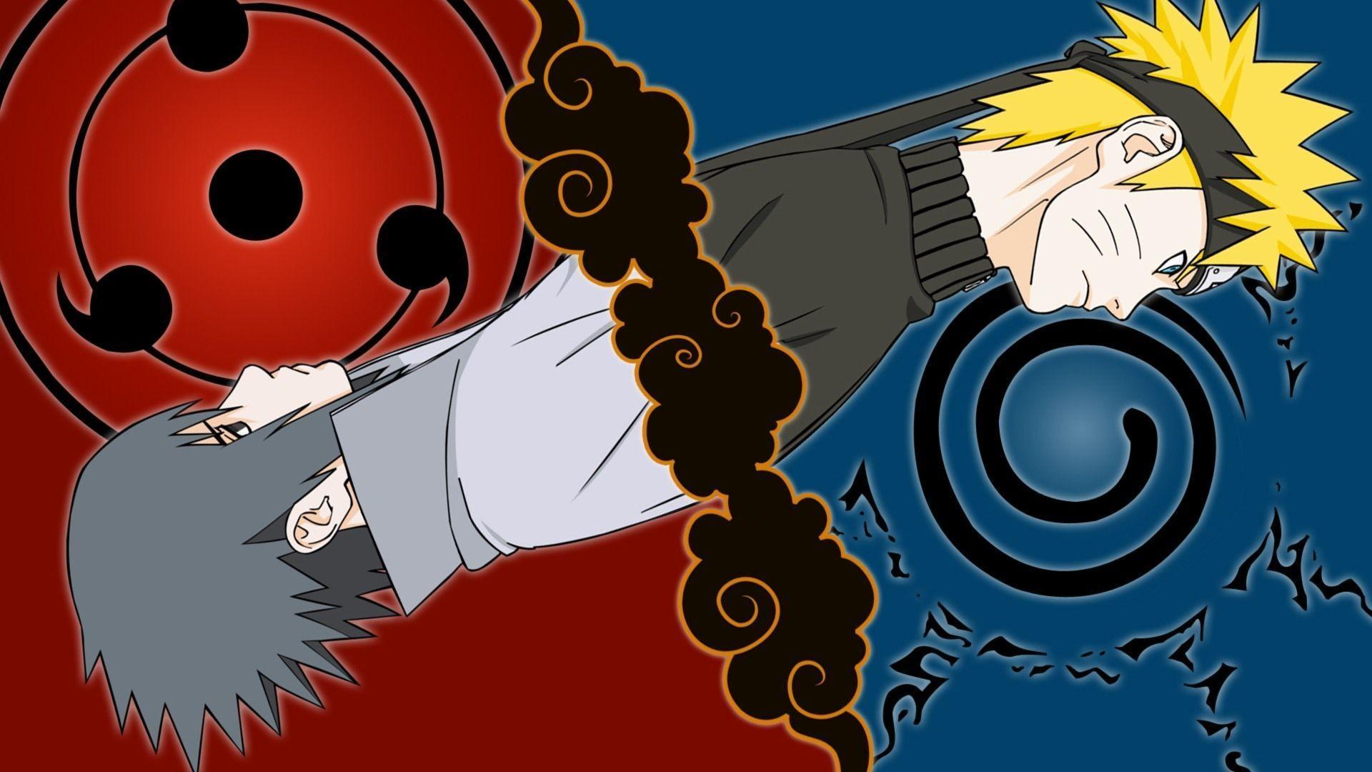 Naruto Uzumaki Sasuke Uchiha HD Wallpapers A Naruto Sasuke Wallpapers
