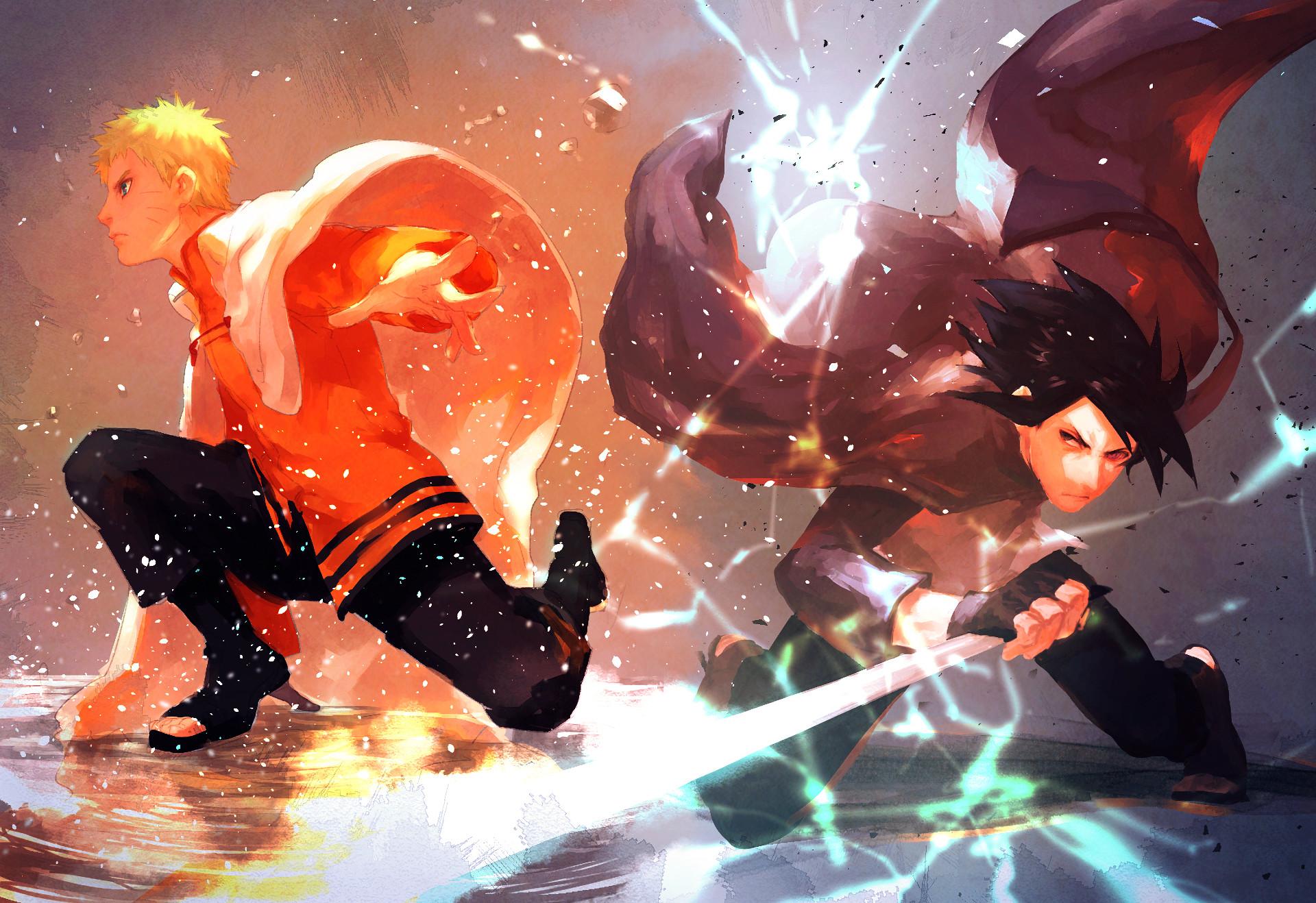 Anime – Boruto Naruto Uzumaki Sasuke Uchiha Naruto Wallpaper