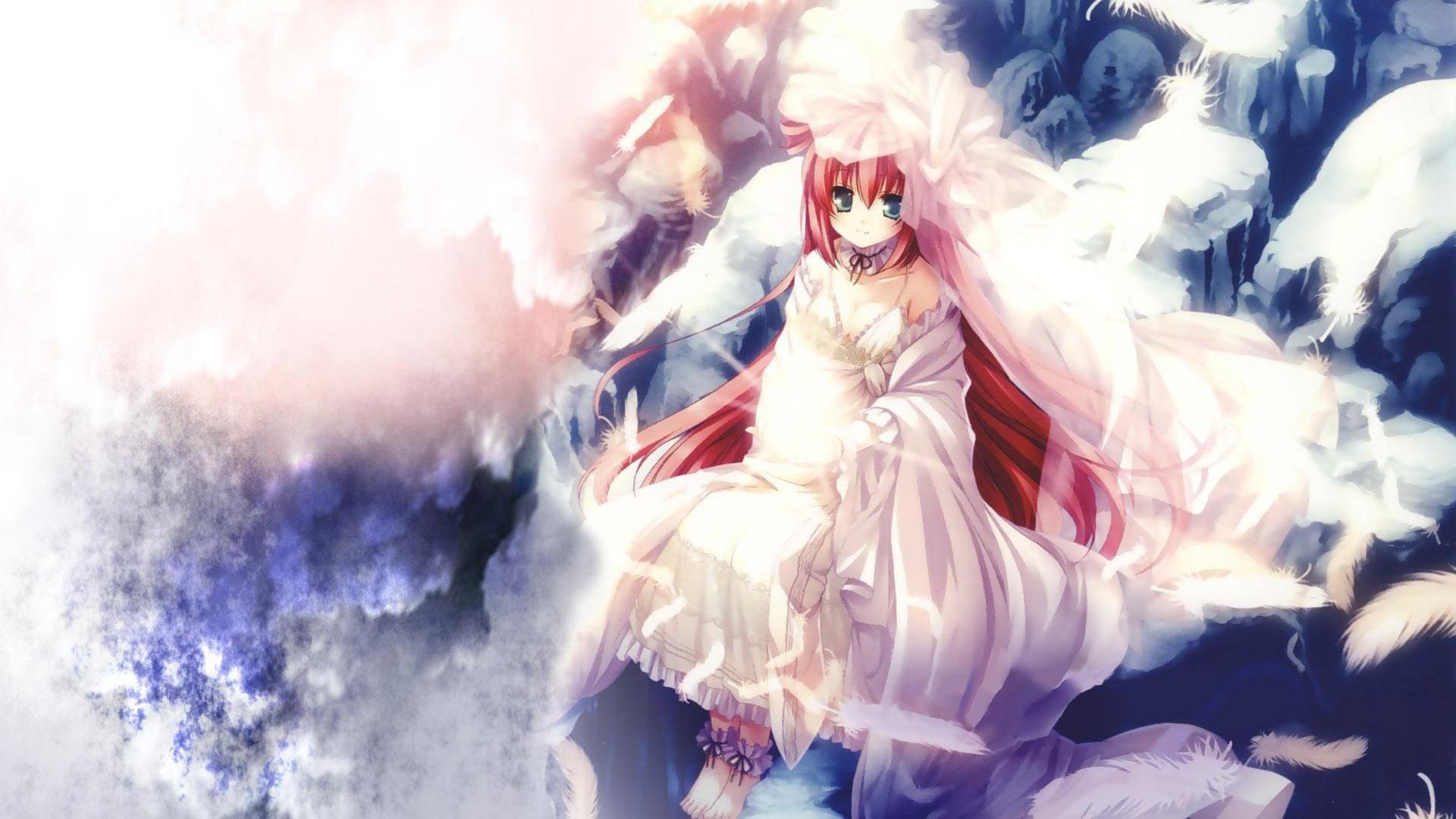 Anime Girl Angel 37 High Resolution Wallpaper