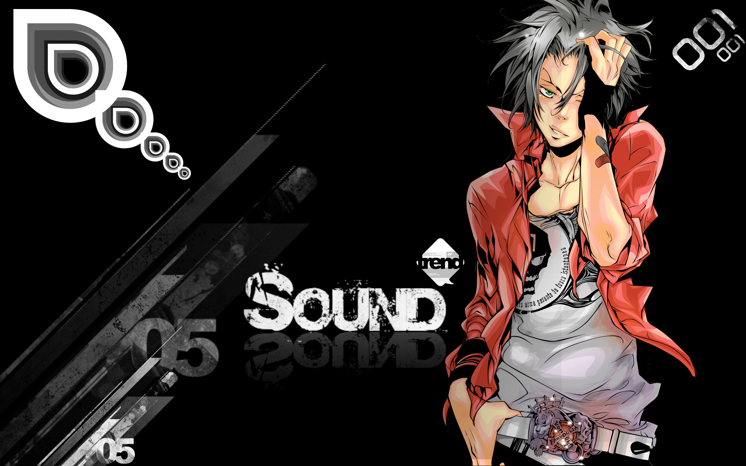 Anime Katekyō Hitman Reborn! Anime Hd Cool Red Black Colors Sound Smart  Male Beautiful Music