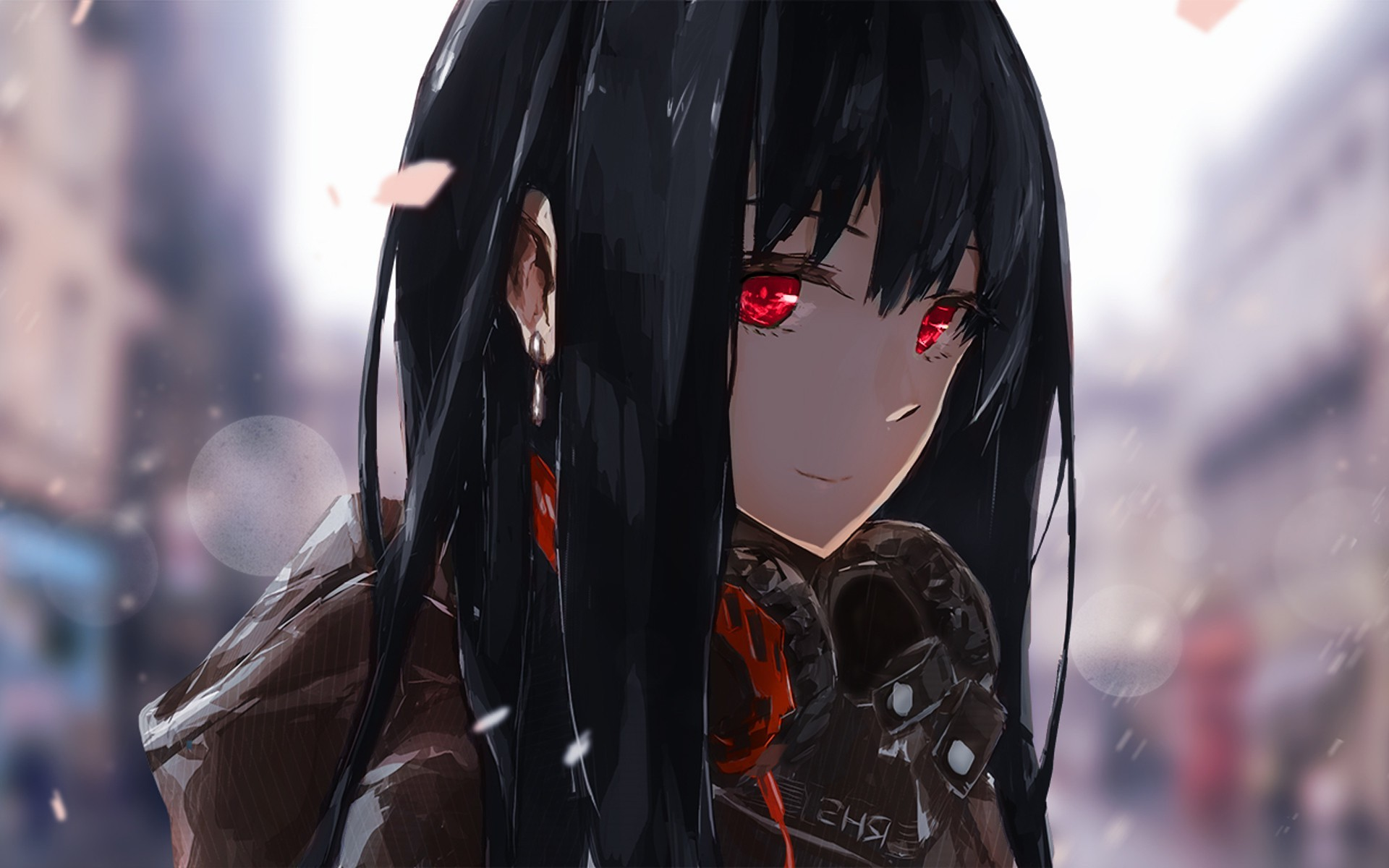 69 Red And Black Anime
