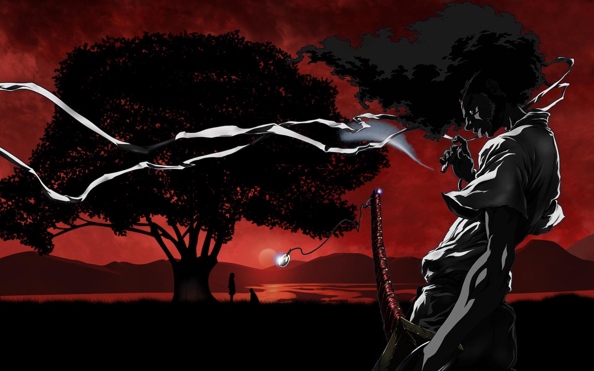 Afro Samurai Tattoo Design Hd Wallpaper   Cartoon Wallpapers   Pinterest    Samurai tattoo, Afro samurai and Samurai
