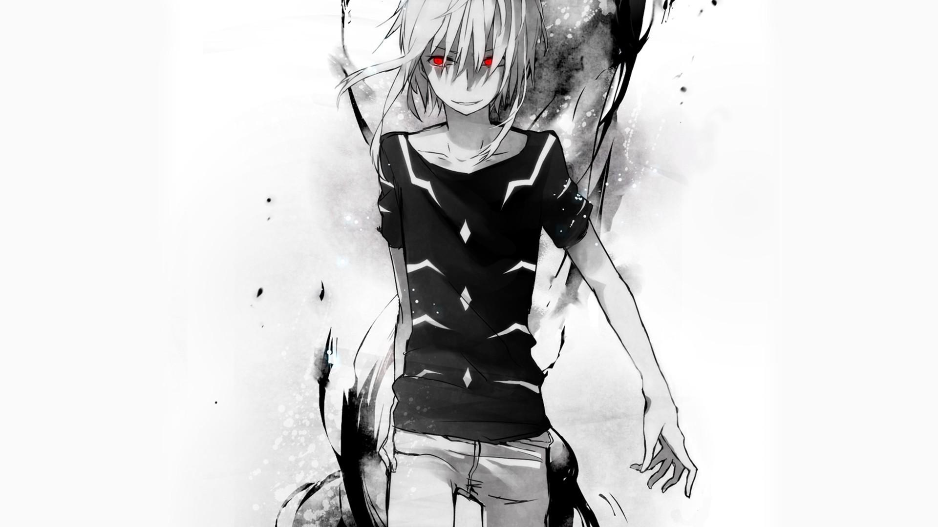 To Aru Kagaku No Railgun, Accelerator, Red Eyes, Anime. Anime Wallpaper HD