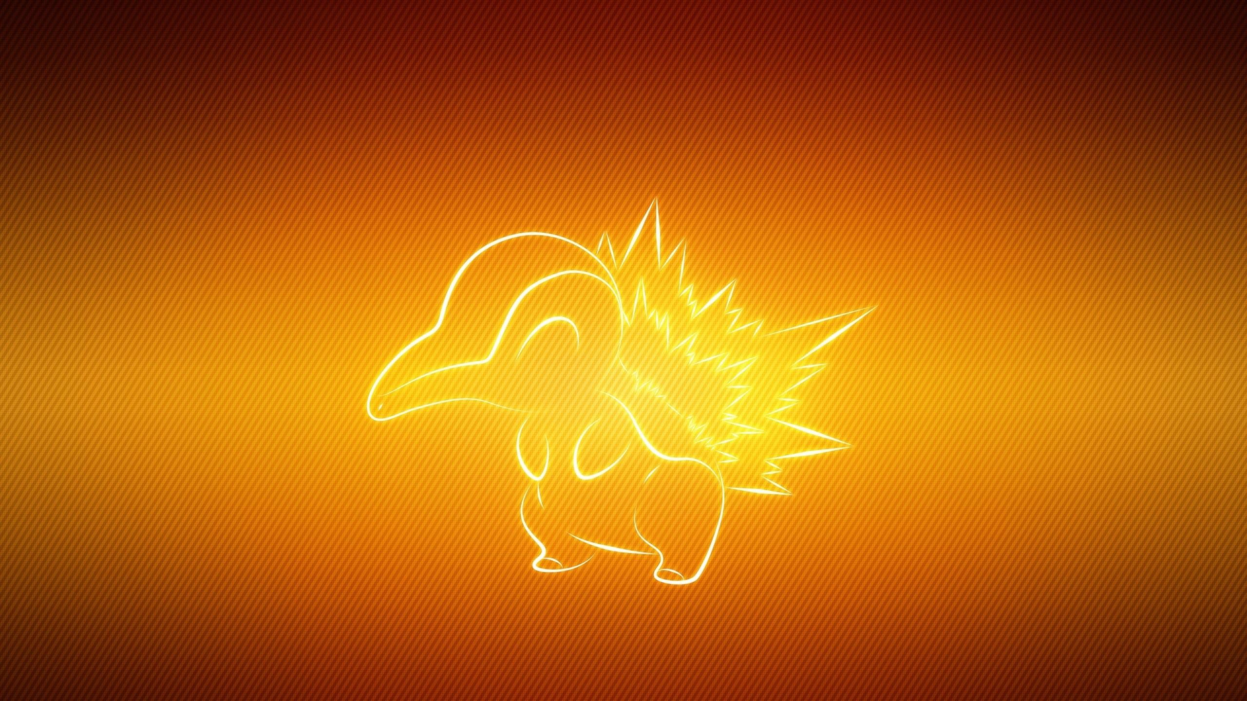 Wallpaper pokemon, animal, cyndaquil