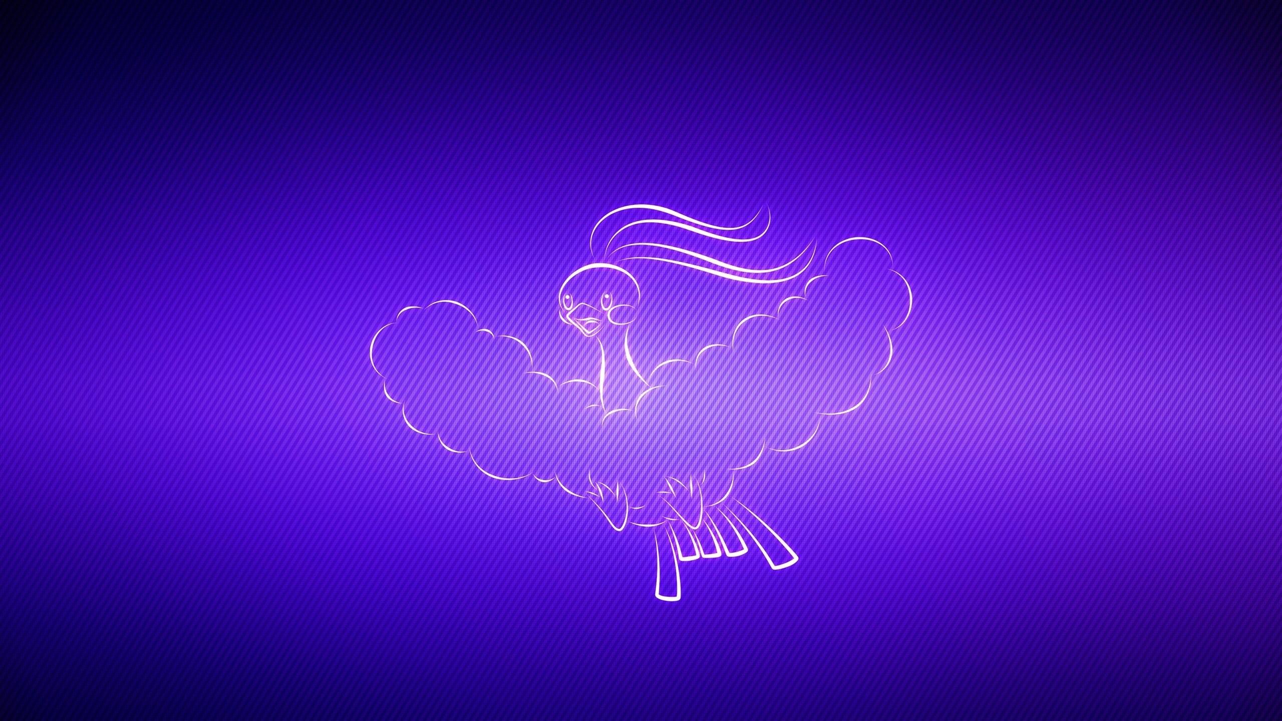 Wallpaper altaria, flight, pokemon, background