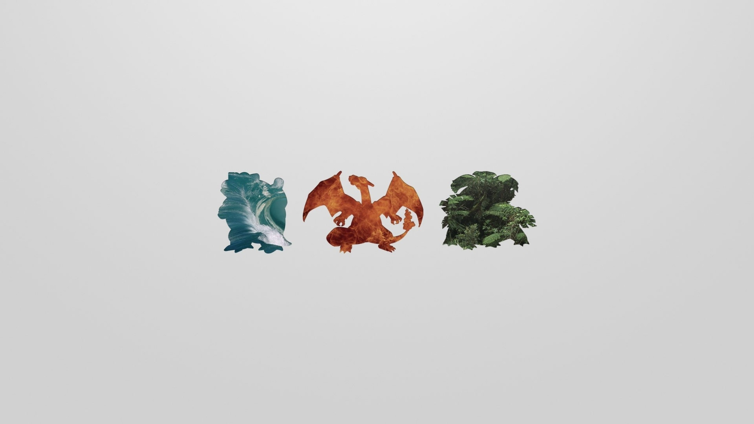 pokemon blastoise charizard venasaur Wallpaper HD