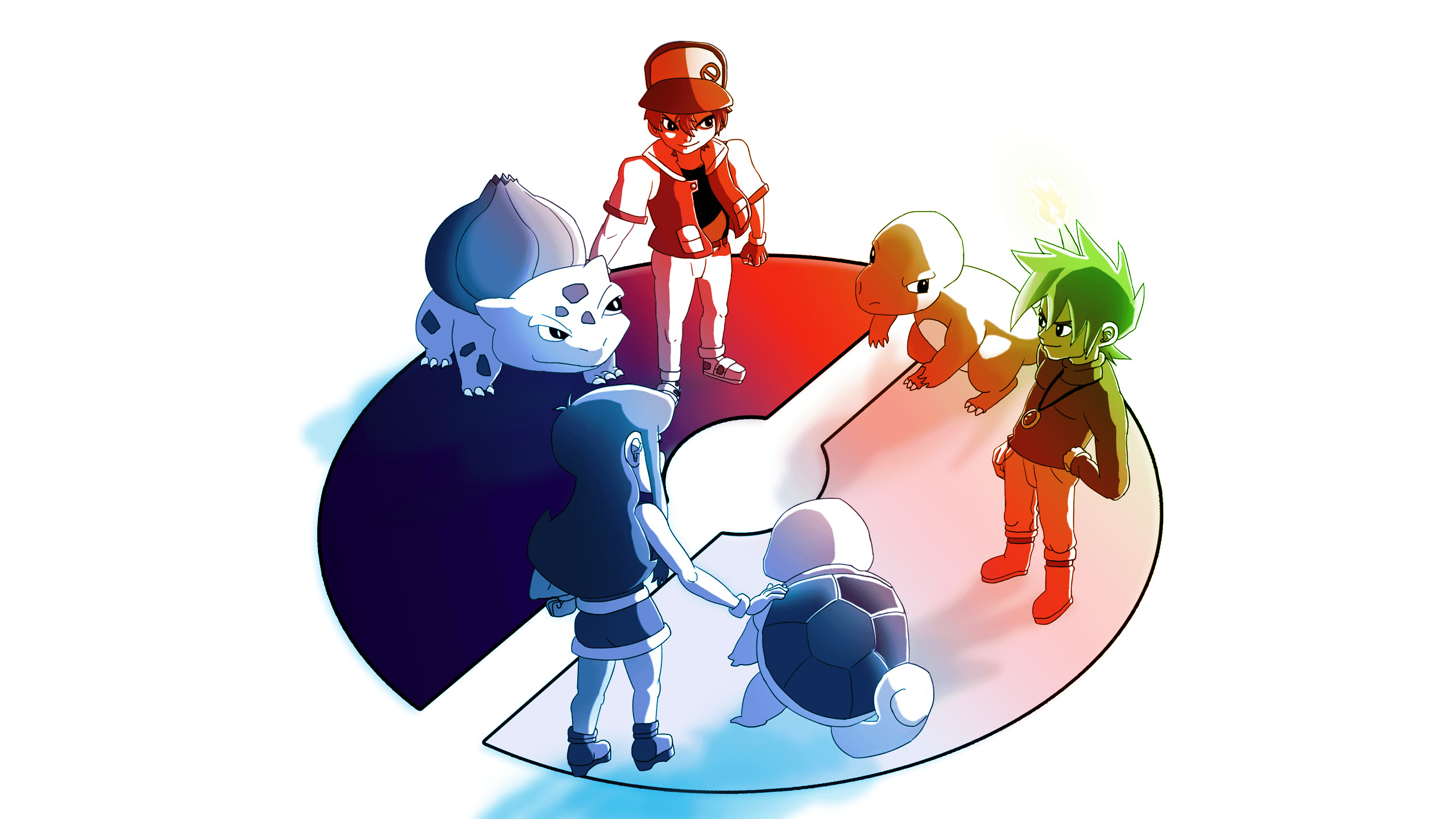 Pokemon Trainer Red wallpaper – 1104748