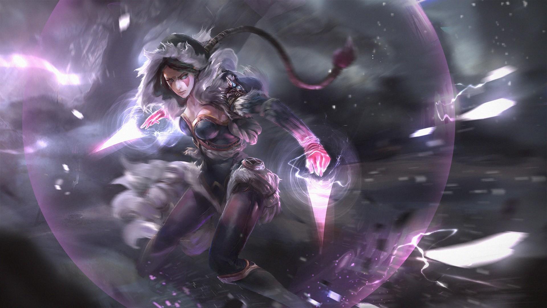General 2D fan art anime girls Dota 2 Templar Assassin Lanaya