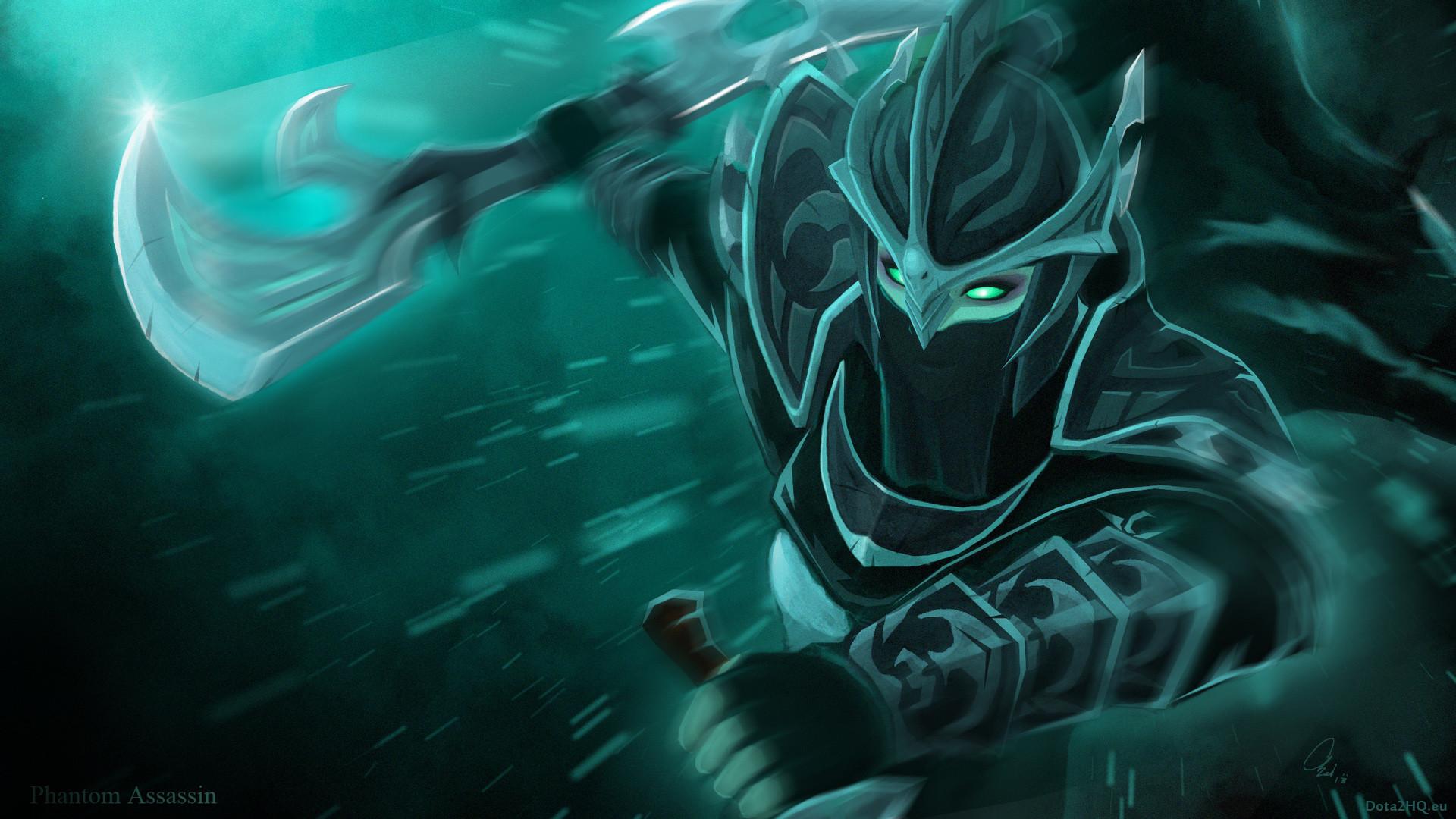 Stylish phantom assassin dota 2 art 78 HD Anime Wallpaper Â« Kuff Games