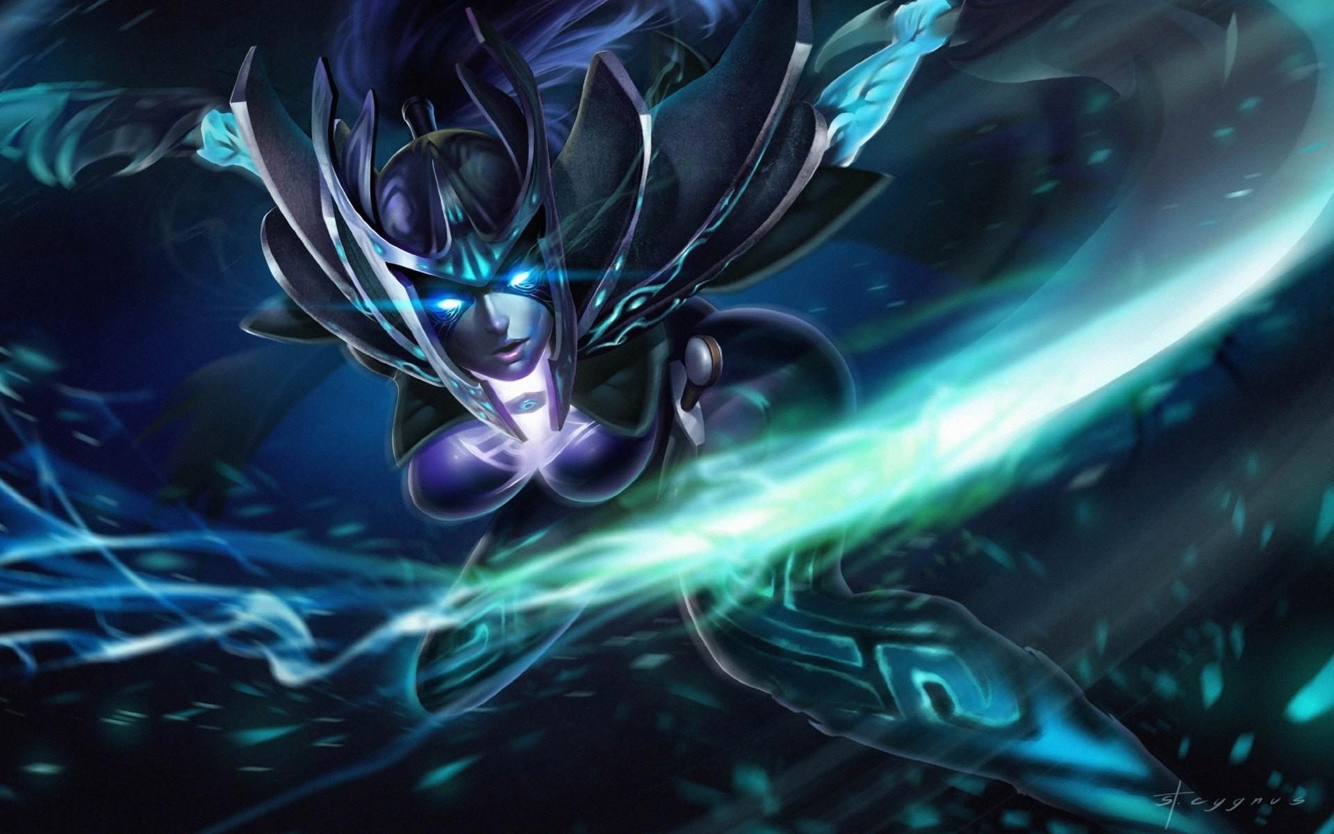 Dota2 : Phantom Assassin Background Dota2 : Phantom Assassin HD pics