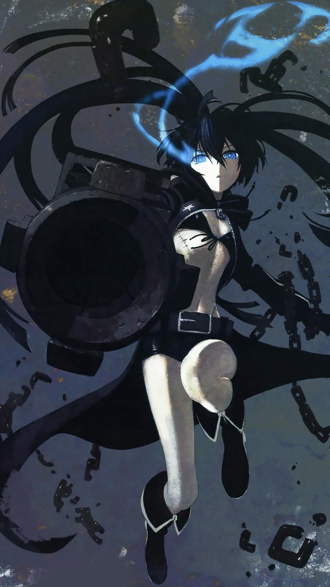 Black-rock-shooter-anime-mobile-wallpaper-1080×1920-12826-