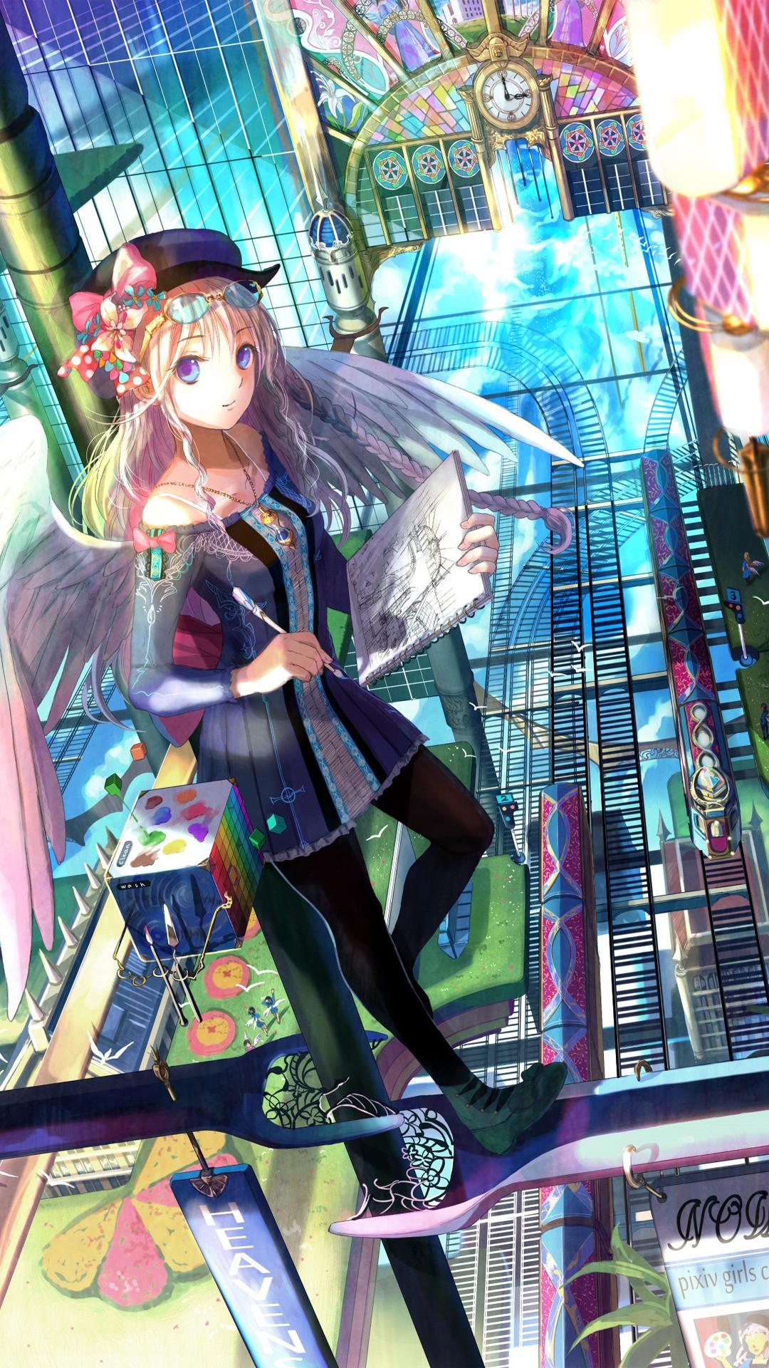 Anime • 83 downloads Vagabond · Painter Anime mobile wallpaper