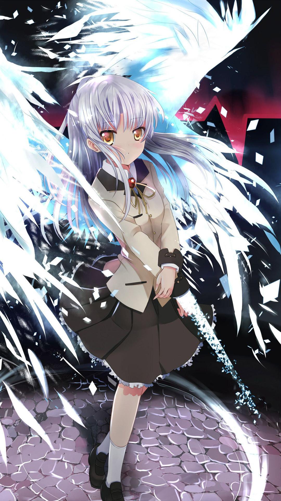 Kanade Tachibana – Angel Beats! Anime mobile wallpaper