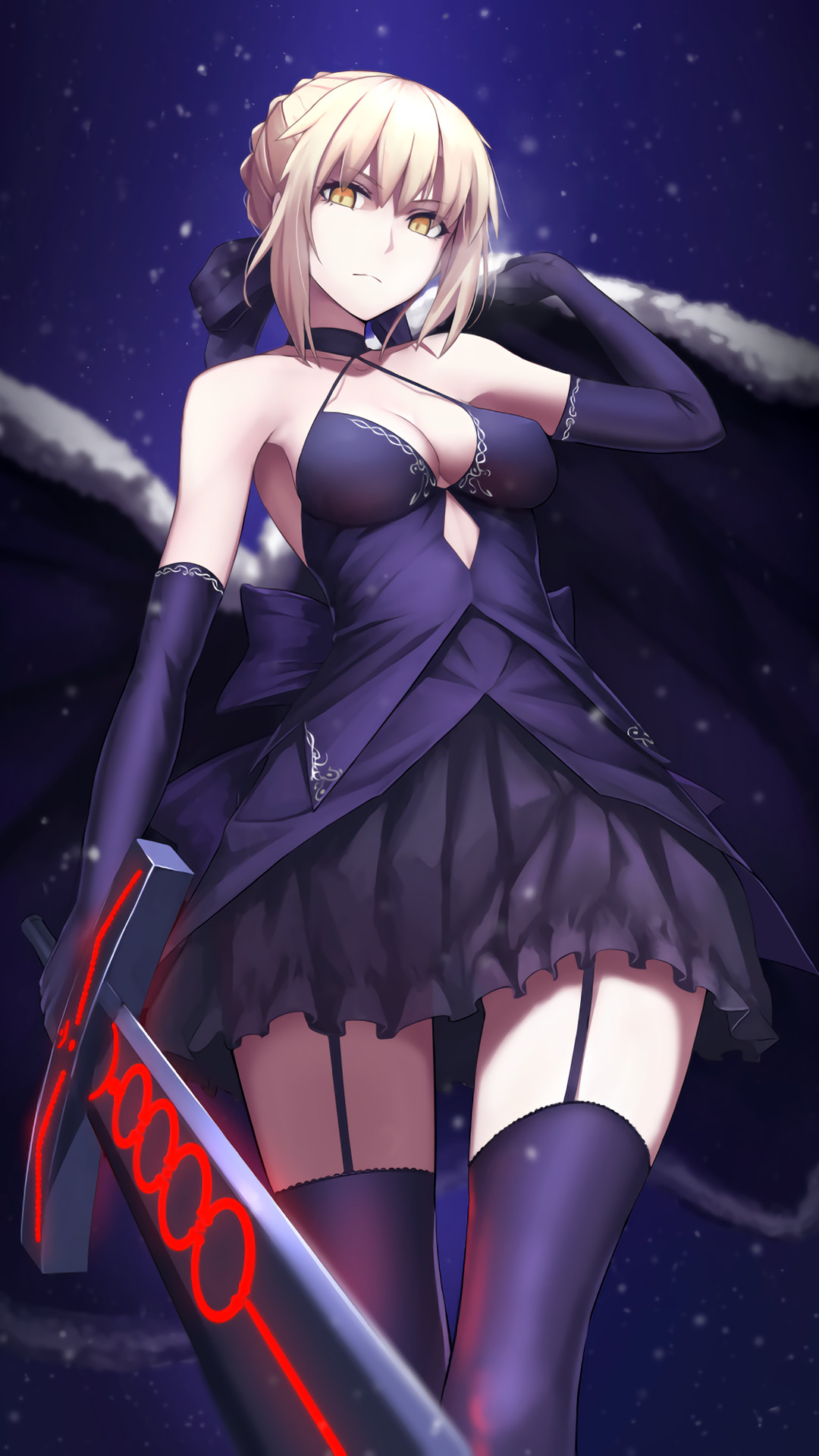 Saber (Fate/grand order) [1920×1080 & 1080×1920] Need #iPhone #