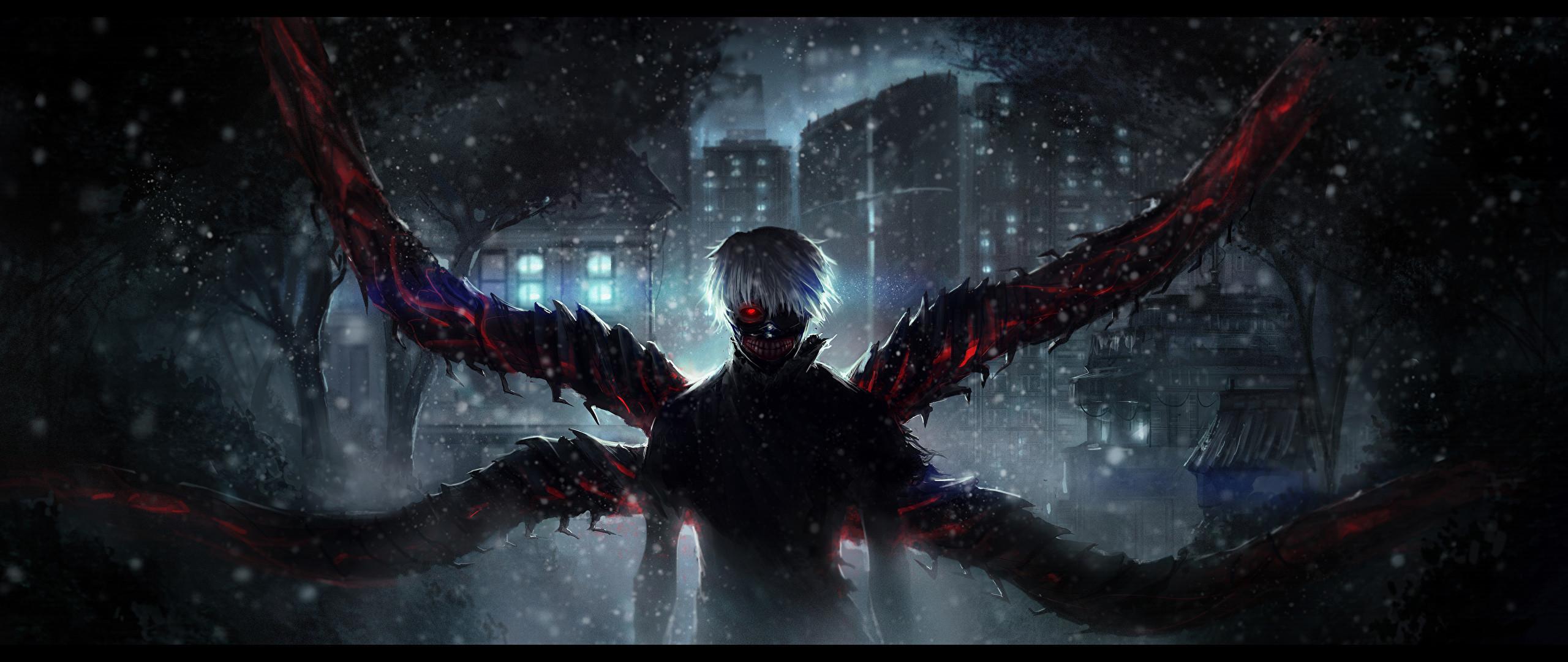 Photos Tokyo Ghoul Ken Kaneki Anime 2560×1080
