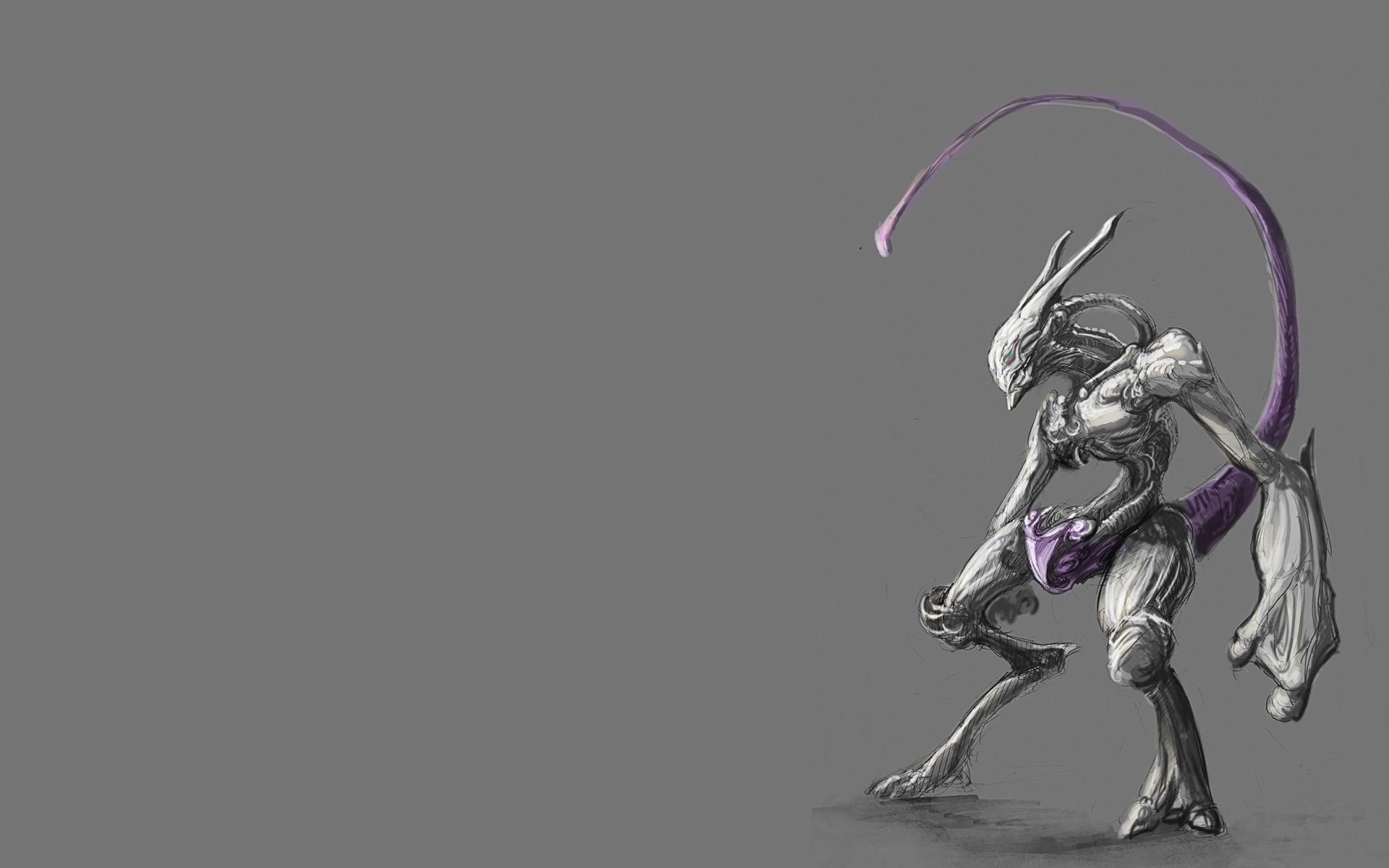 MewThree Pokemon Wallpaper