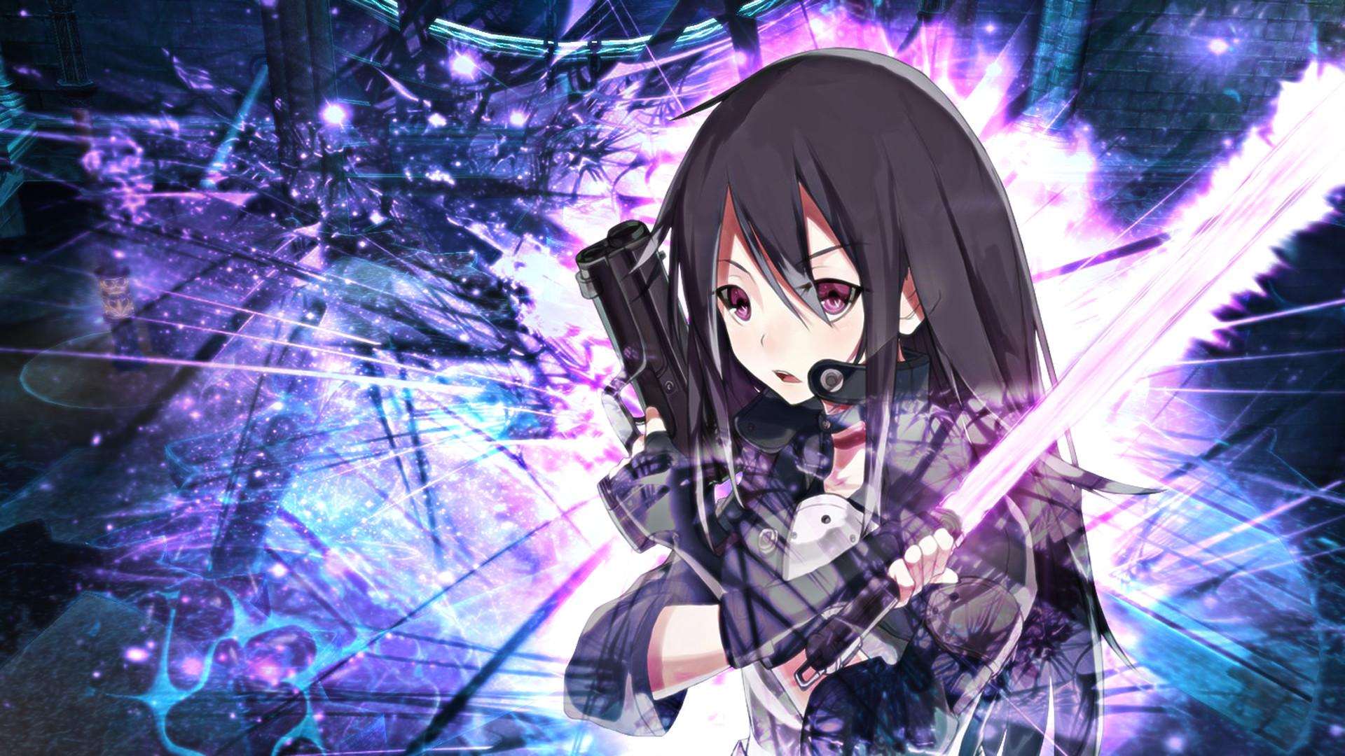 Kirito Gun Gale Online 7w HD Wallpaper