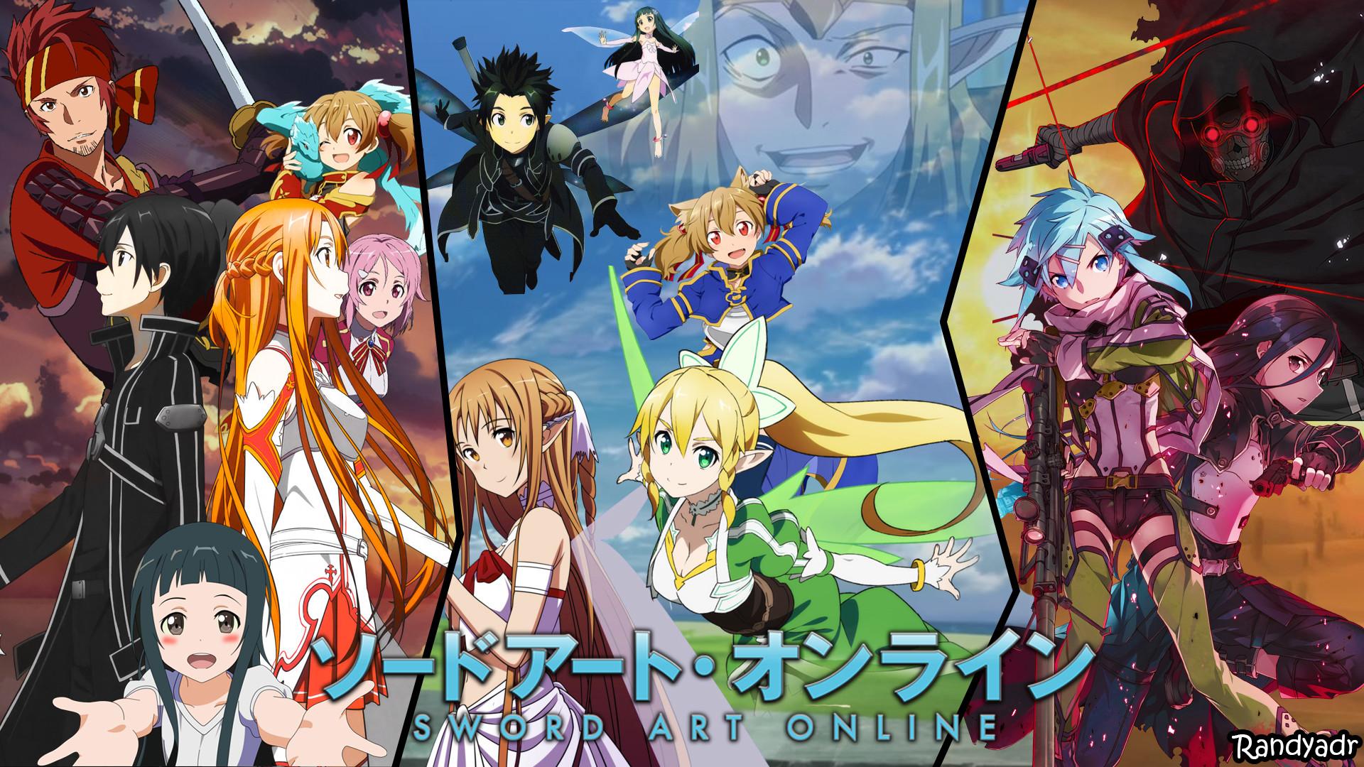 sword art online wallpaper attempt by randyadr fan art manga anime .
