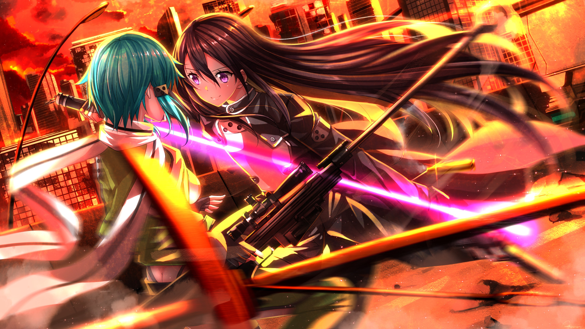 Sinon Sword Art Online · HD Wallpaper | Background ID:632576