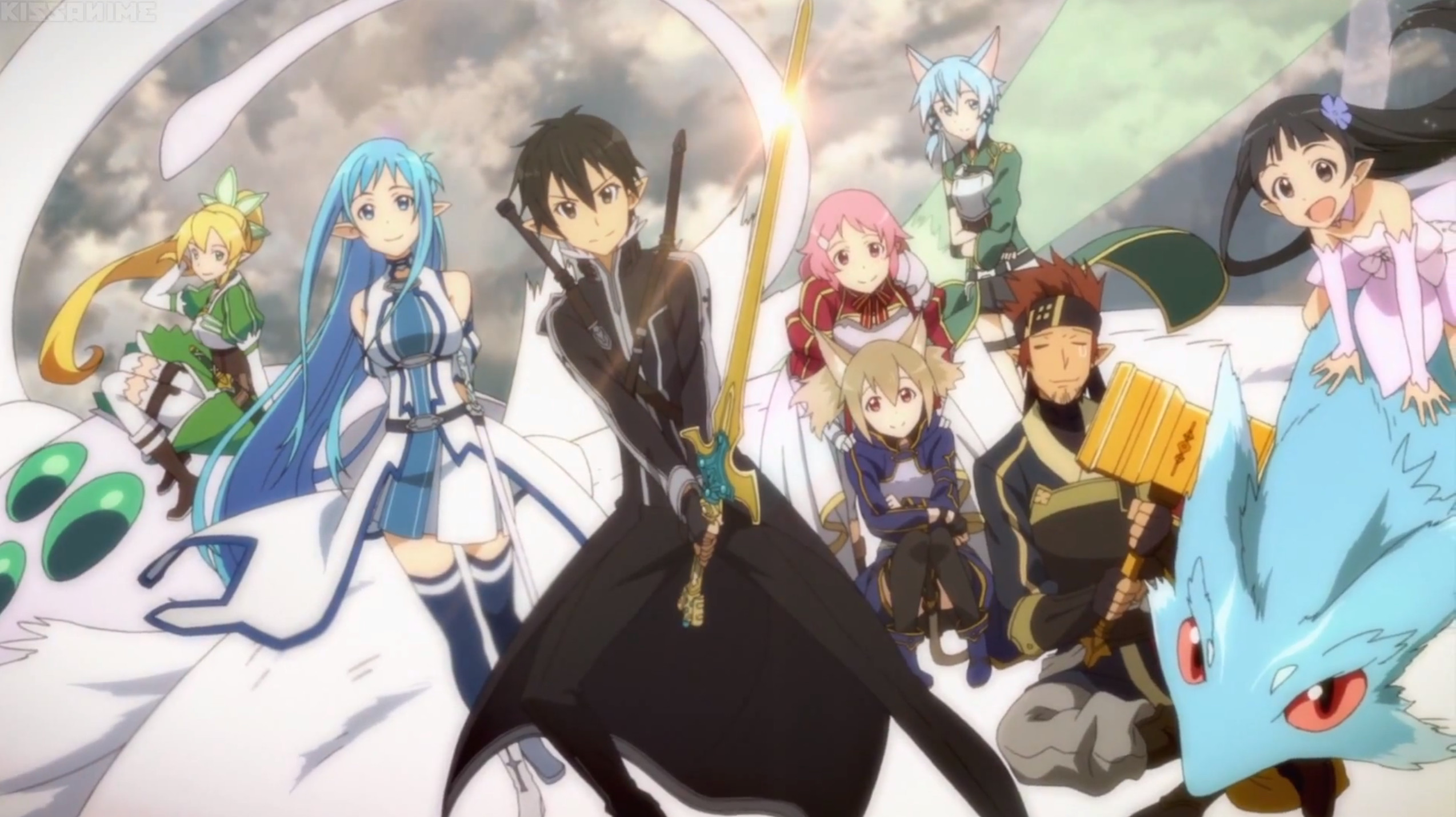 Sword Art Online 2 Episode 17 – End of Caliber Arc <3