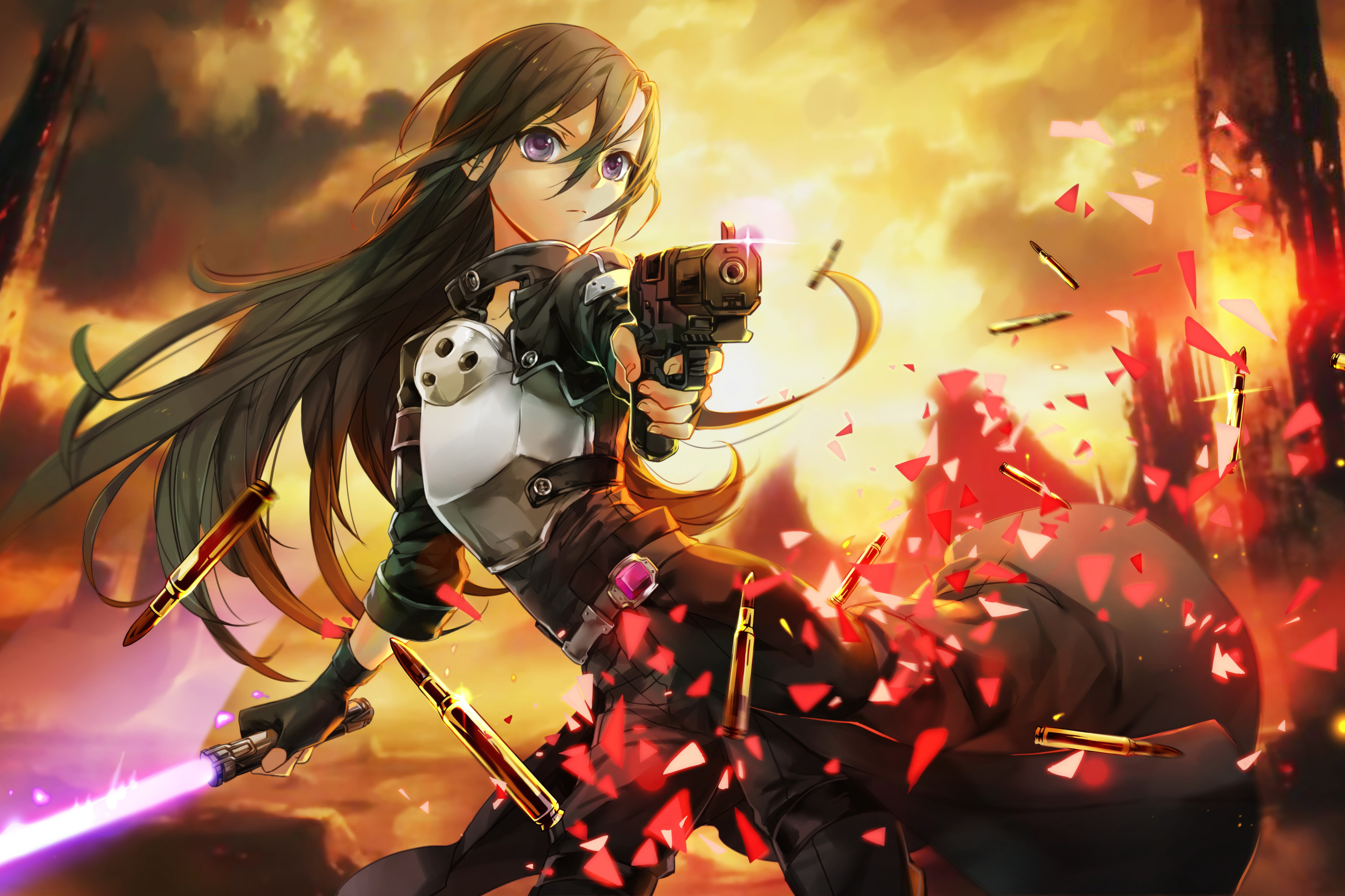 … II Sword Art Online Kirito. Wallpaper 634168