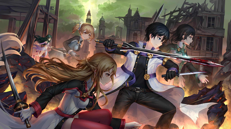 … Sword Art Online Ordinal Scale · HD Wallpaper | Background ID:720951