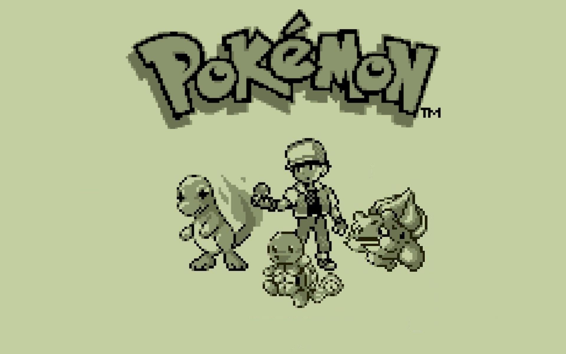 8-Bit Gameboy Pokemon Wallpaper