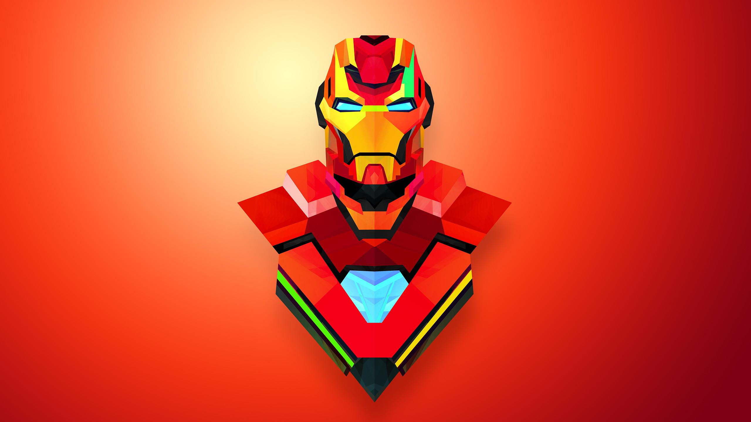 Iron Man, Artwork, HD