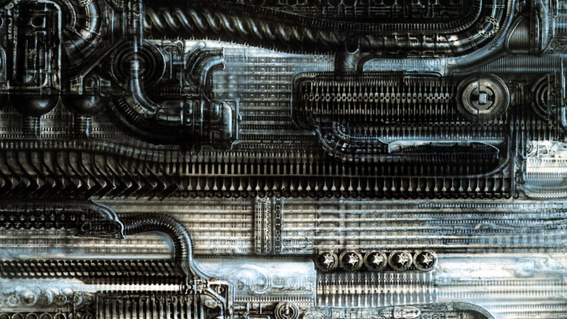 Science Fiction Wallpaper Gallery featuring H R Giger – page 1