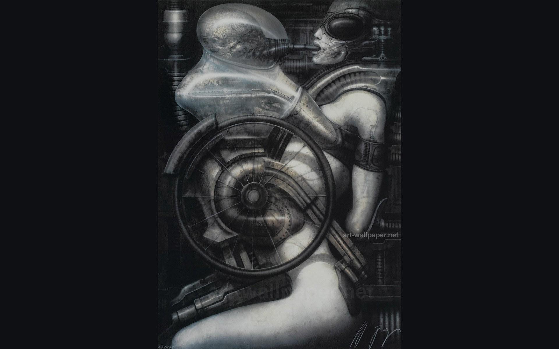 H R Giger Art Artwork Dark Evil Artistic Horror Fantasy Sci-fi Alien Aliens  Xenomorph Wallpaper At Dark Wallpapers