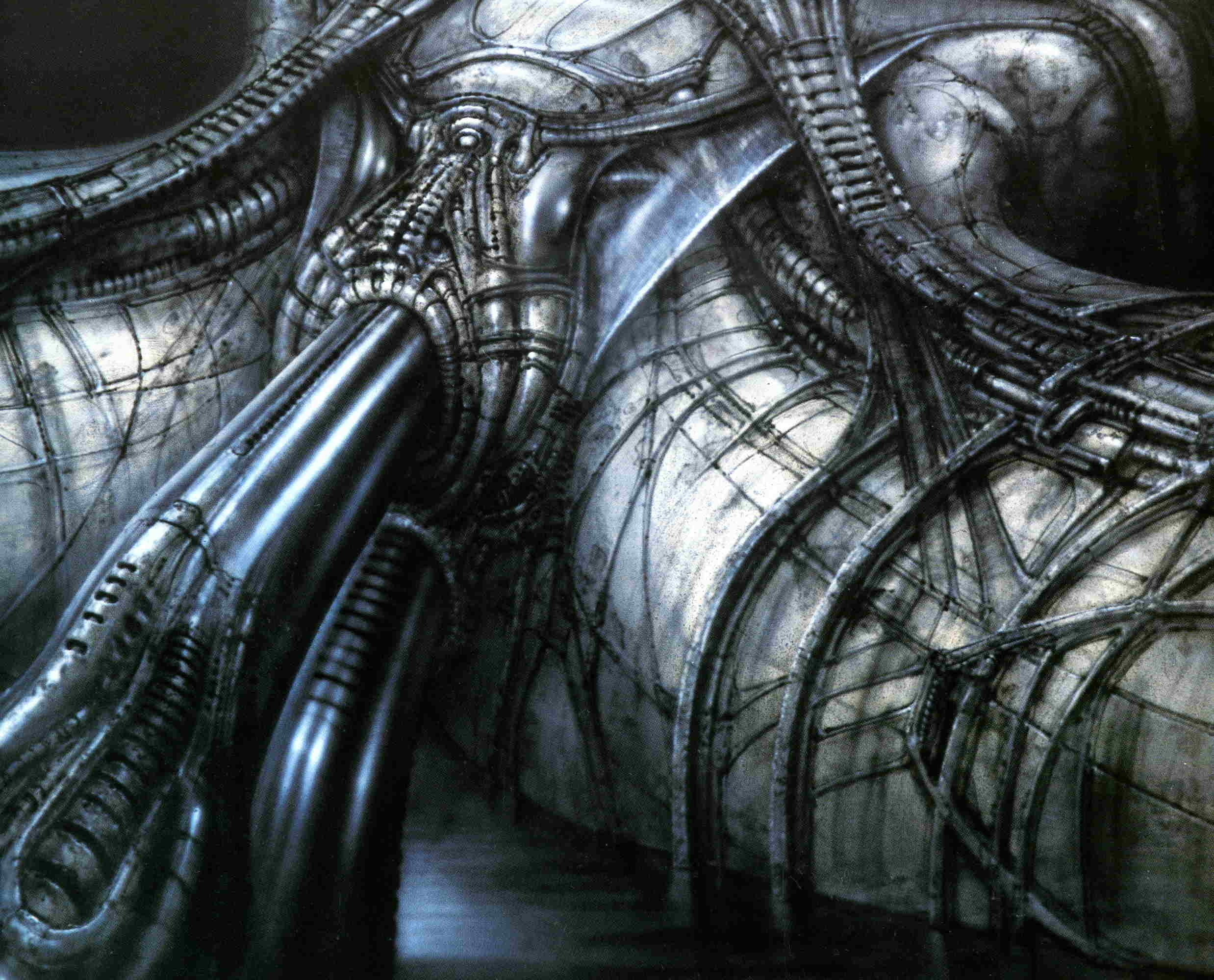 The art of H.R Giger.