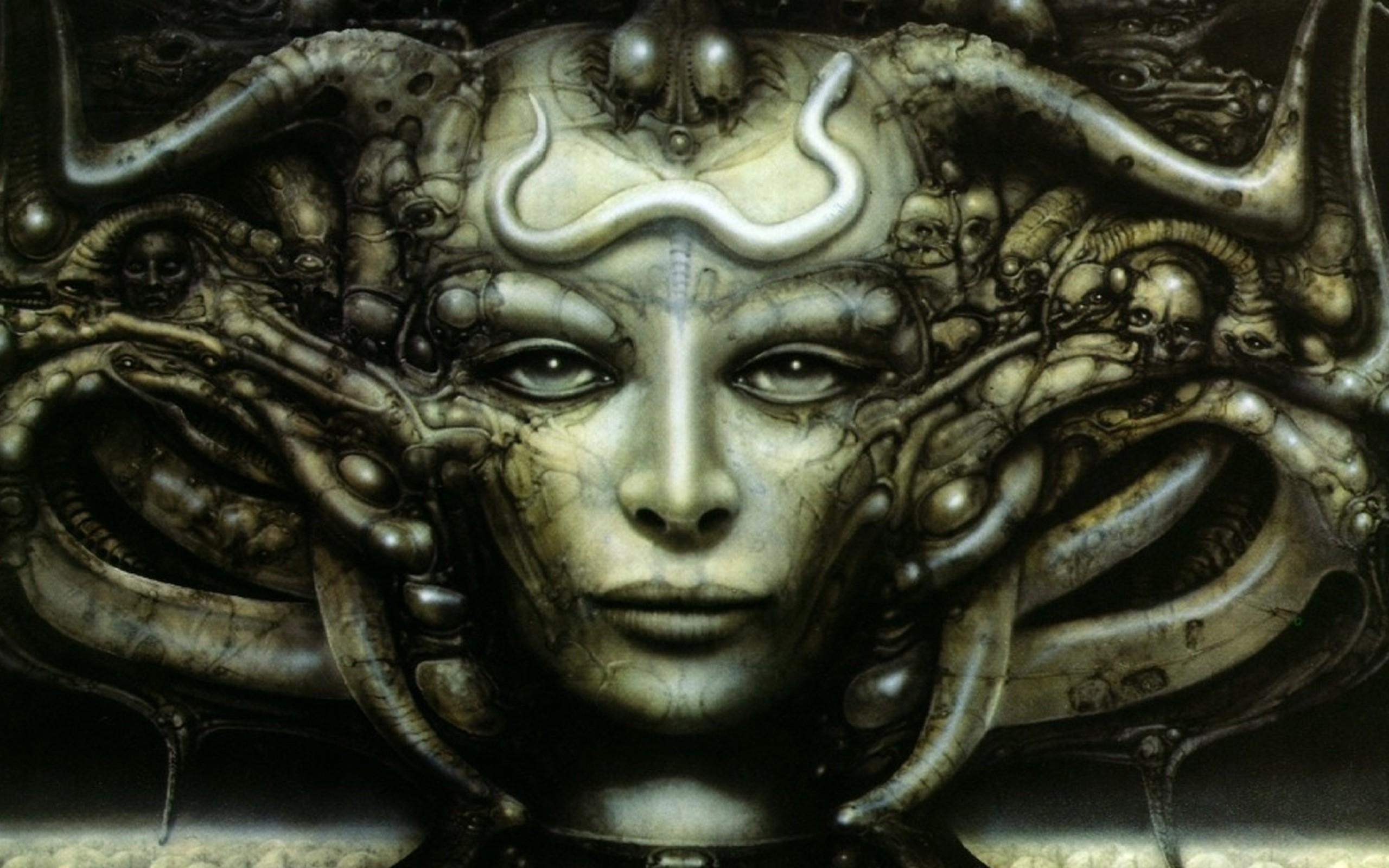 hr giger necronomicon artwork 1680×1050 wallpaper Art HD Wallpaper