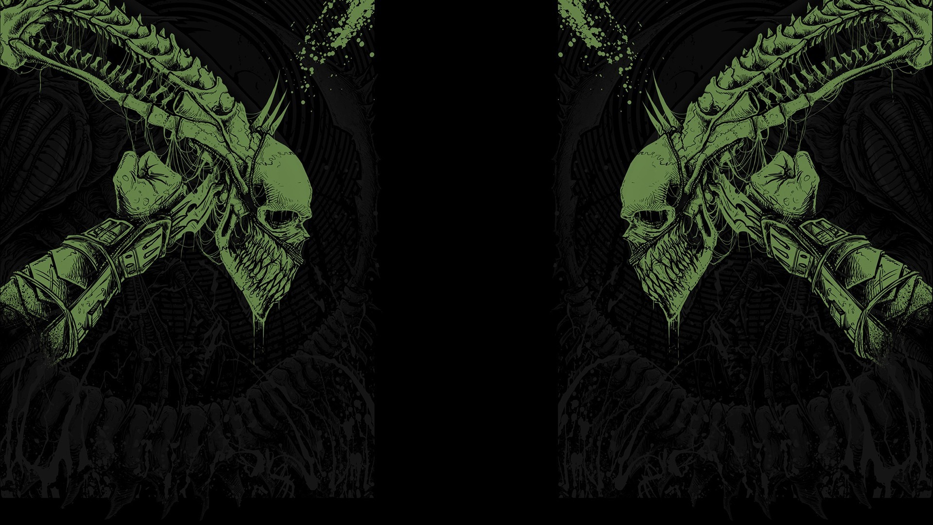 Movies predator science fiction Alien fan art black background H_R_ Giger  wallpaper     199468   WallpaperUP