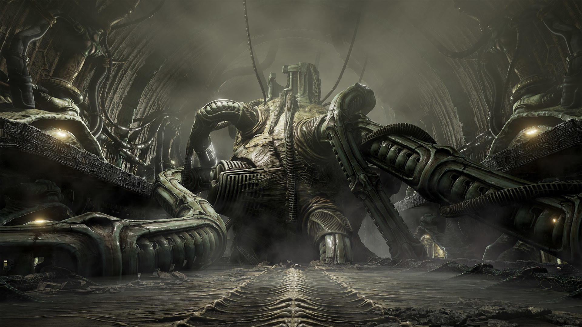 H.R. Giger inspired horror game – Scorn comes to Steam Greenlight