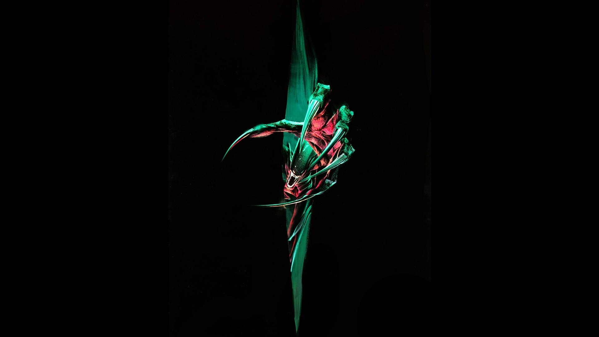 Alien Xenomorph-by Aram Vardazaryan Fan art Ridley Scott Alien .