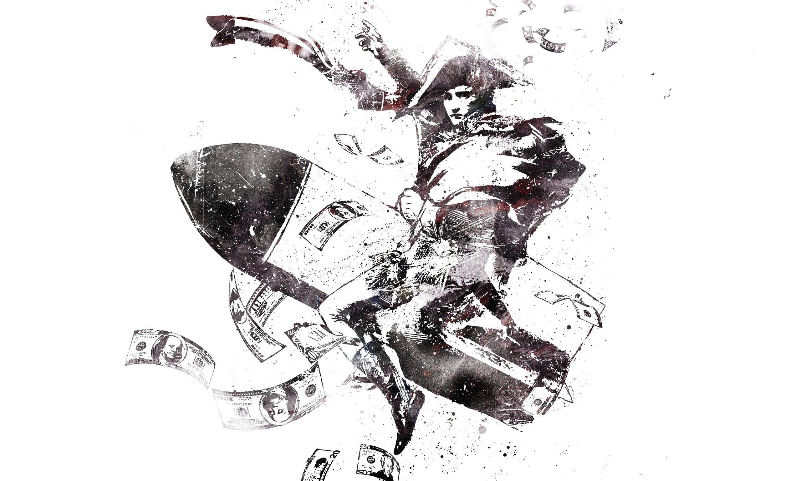 Napoleon Riding A Bomb …