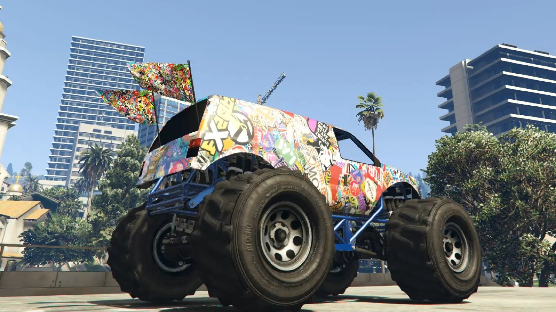 GTA V – Sticker Bomb Liberator 2 0f HD Update