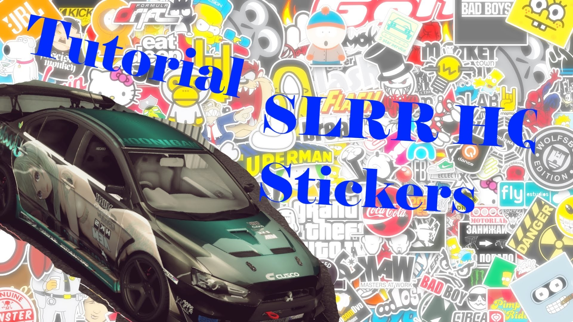 TUTORIAL: How to get HQ sticker in SLRR