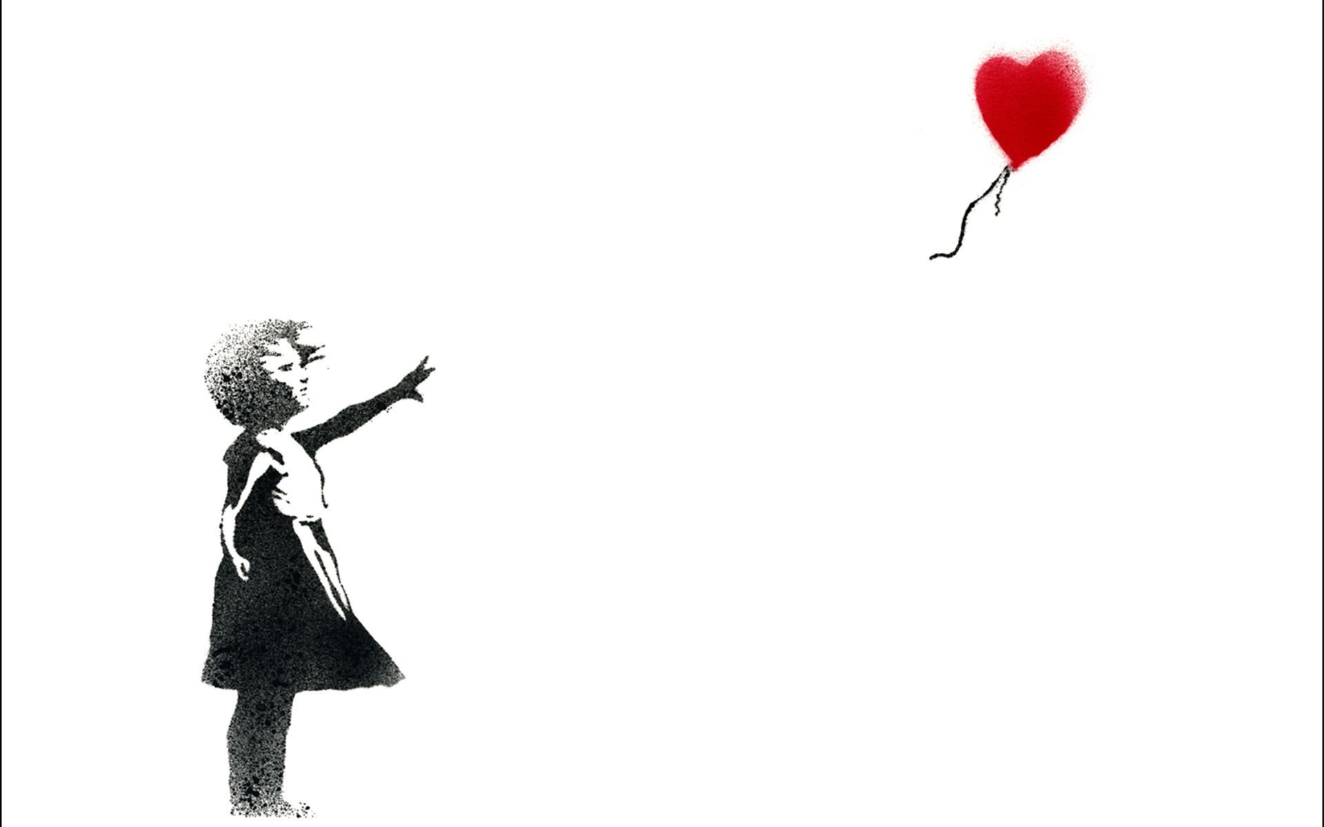 Banksy Art Wallpaper Widescreen.
