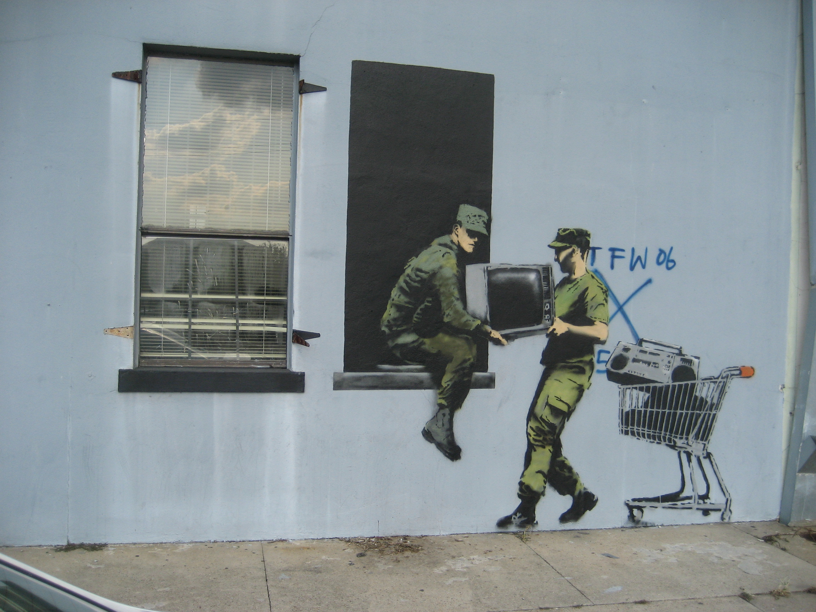 Banksy Robbers Wallpaper HD