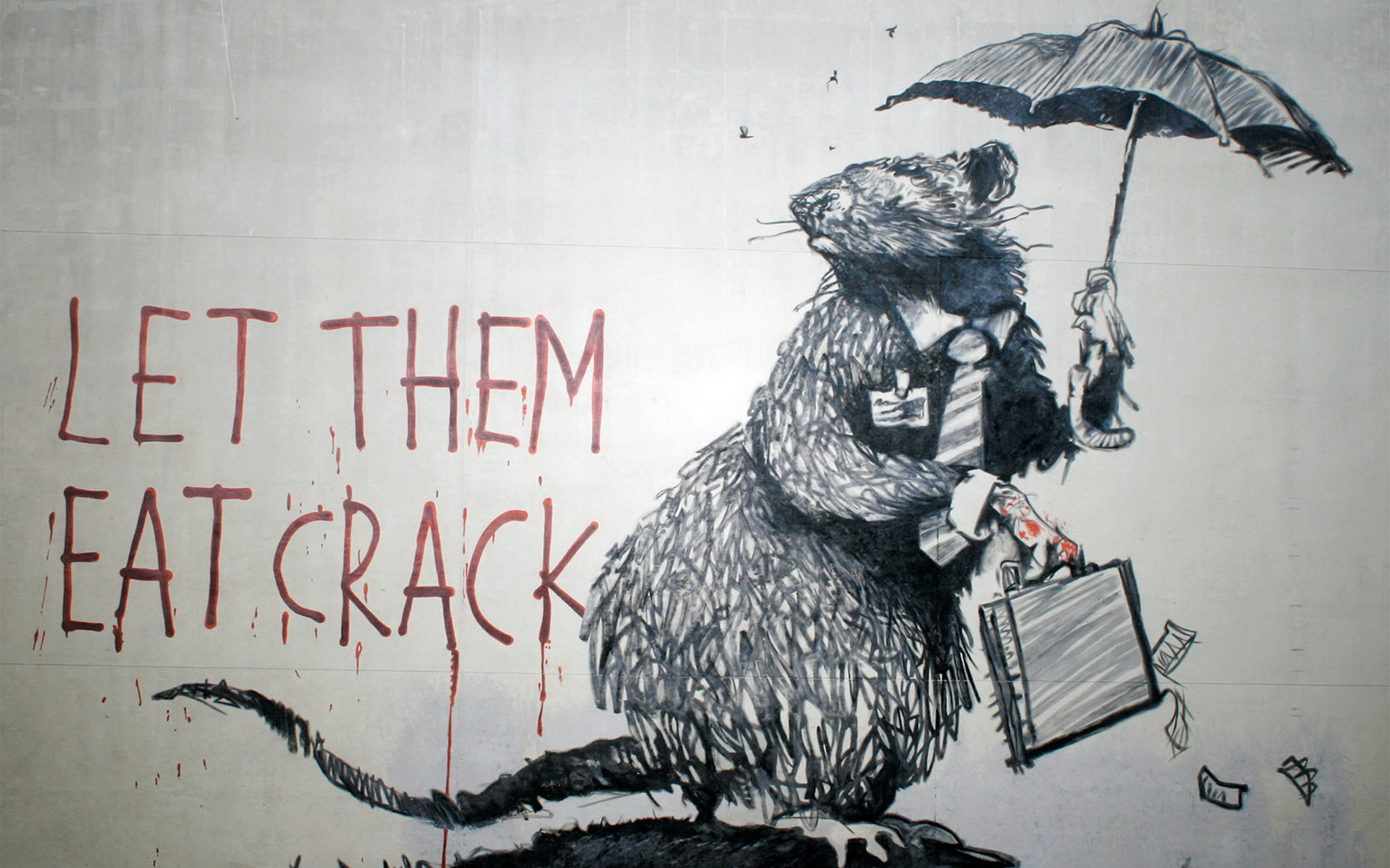 Banksy Wallpaper 31 eat crack.jpg (1920×1200)