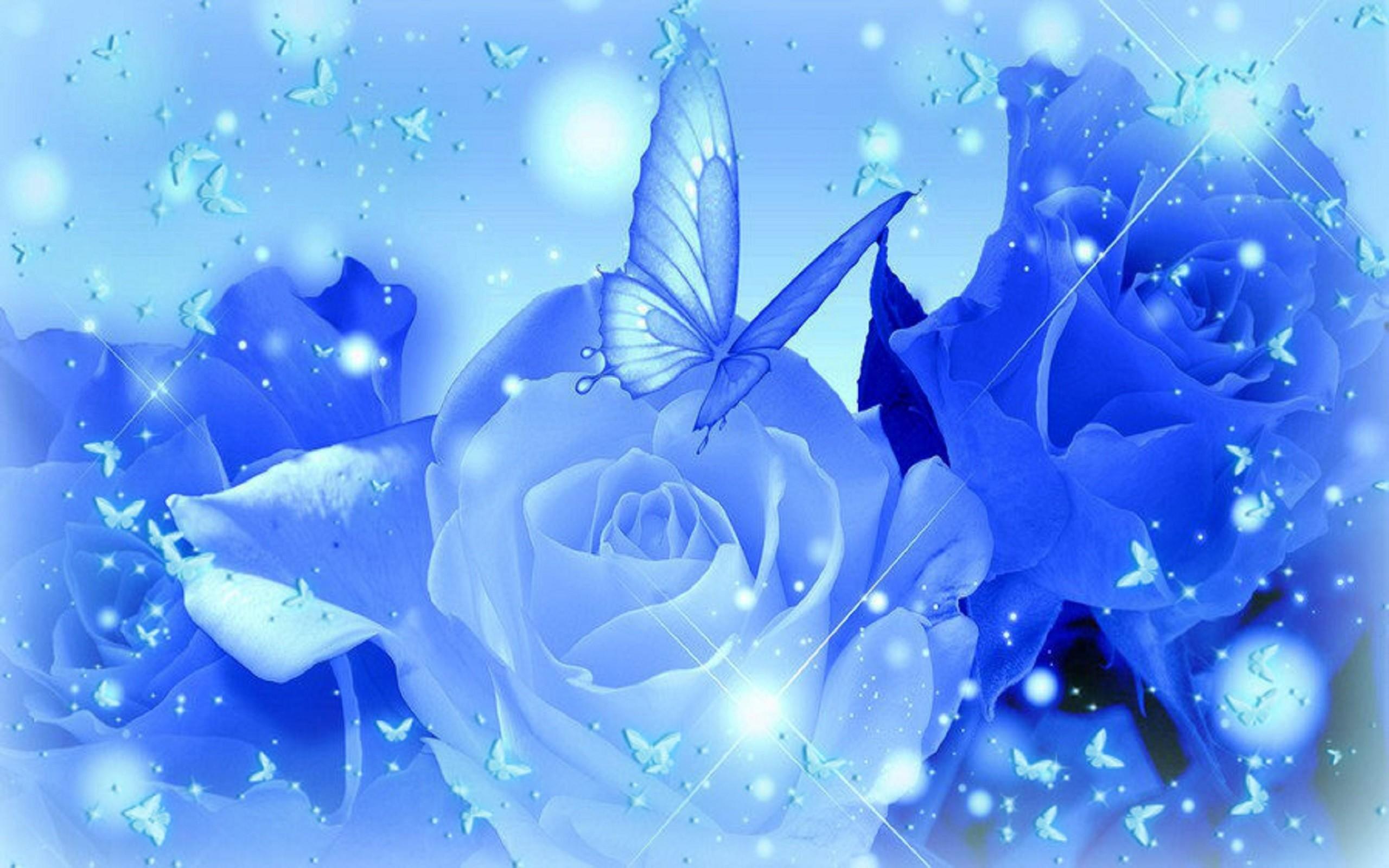 Blue-Rose-Desktop-Wallpapers-HD.jpg (2560×1600) | blue flowers | Pinterest  | Blue roses