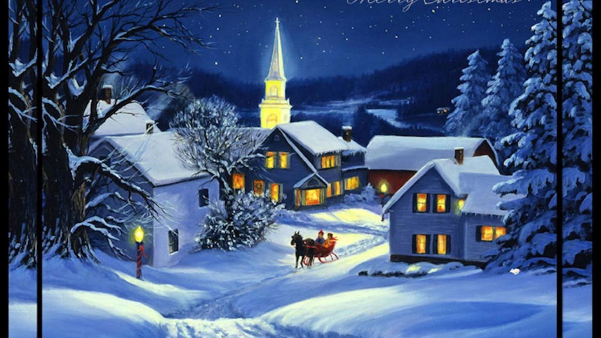 NIGHT BEFORE CHRISTMAS WALLPAPER – (#65556) – HD Wallpapers .