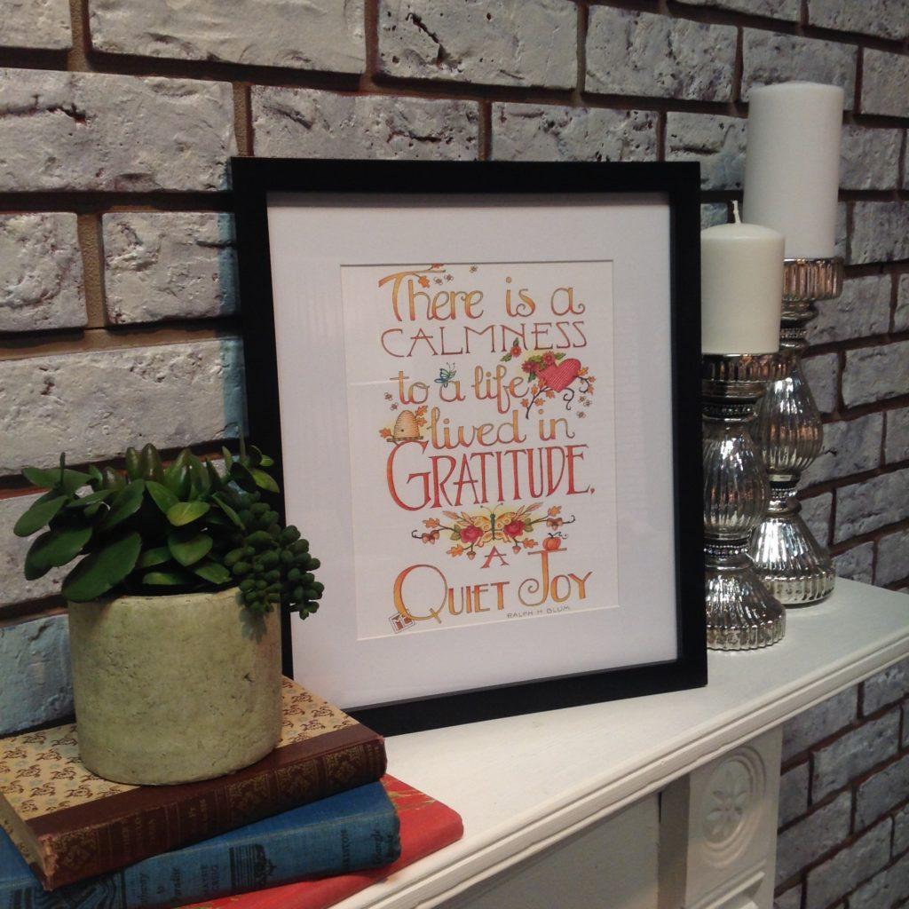 Mary Engelbreit Free Printable Gratitude Quote