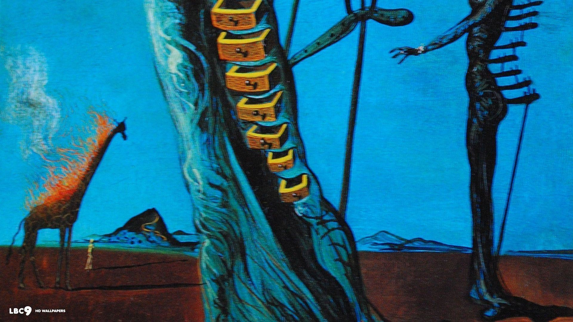 salvador dali wallpaper 3/38 | paintings hd backgrounds