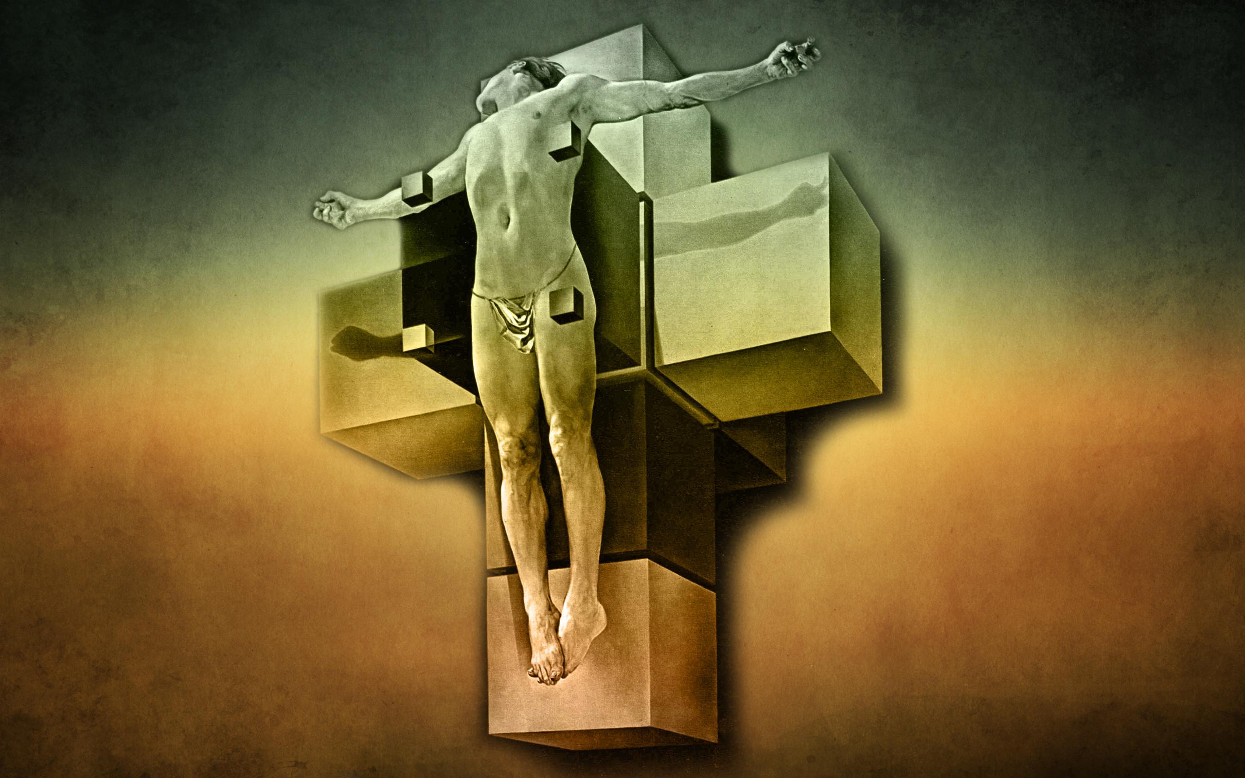 salvador dal artwork corpus hypercubus dali HD Wallpaper – General .