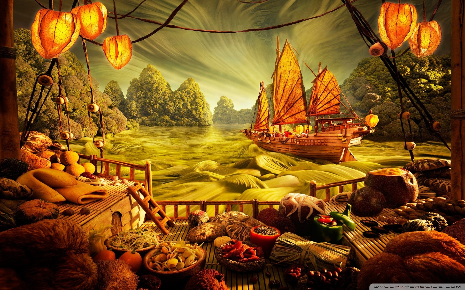 Food Art Wallpapers High Resolution