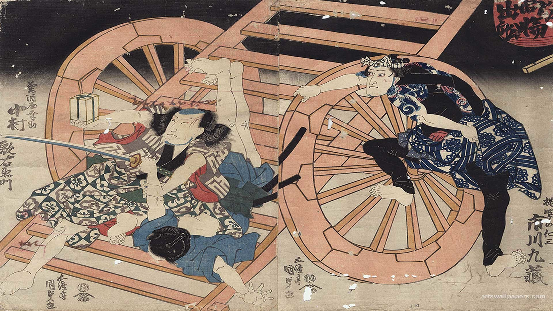 Japanese Woodblock Wallpapers, Art Wallpapers, Desktop Wallpapers