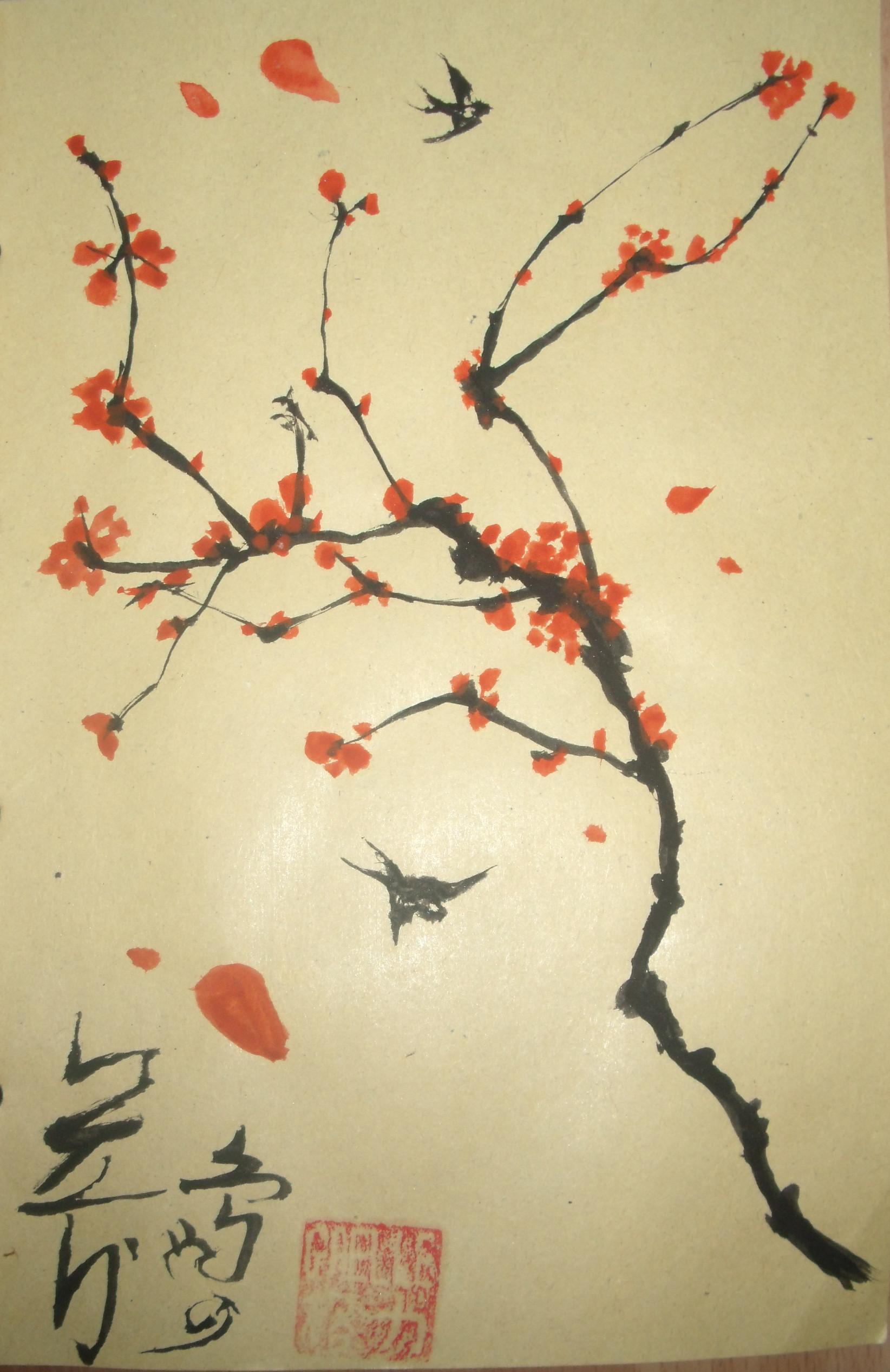 japanese art tree – thegagamanga.deviantart.com