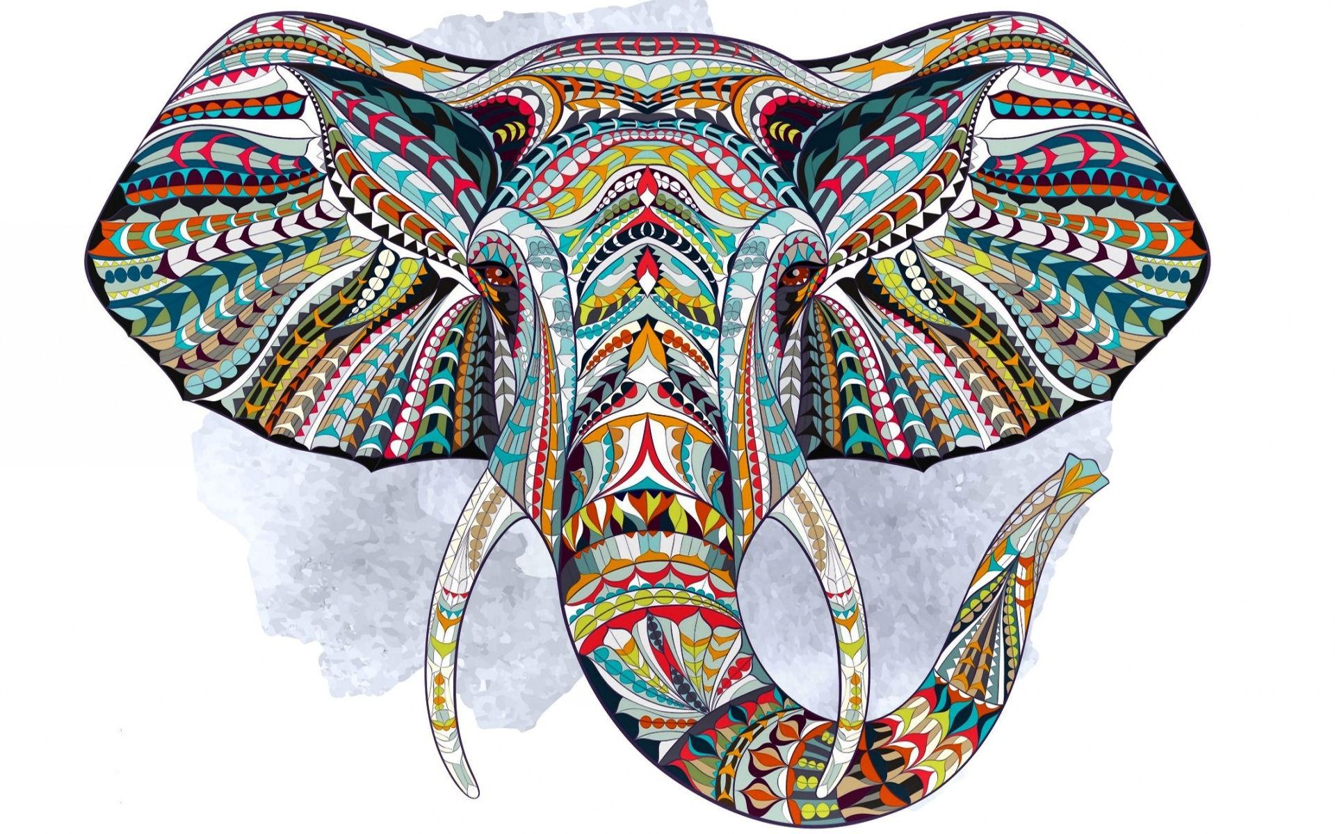 Ikat Pattern Desktop Wallpaper – tutor